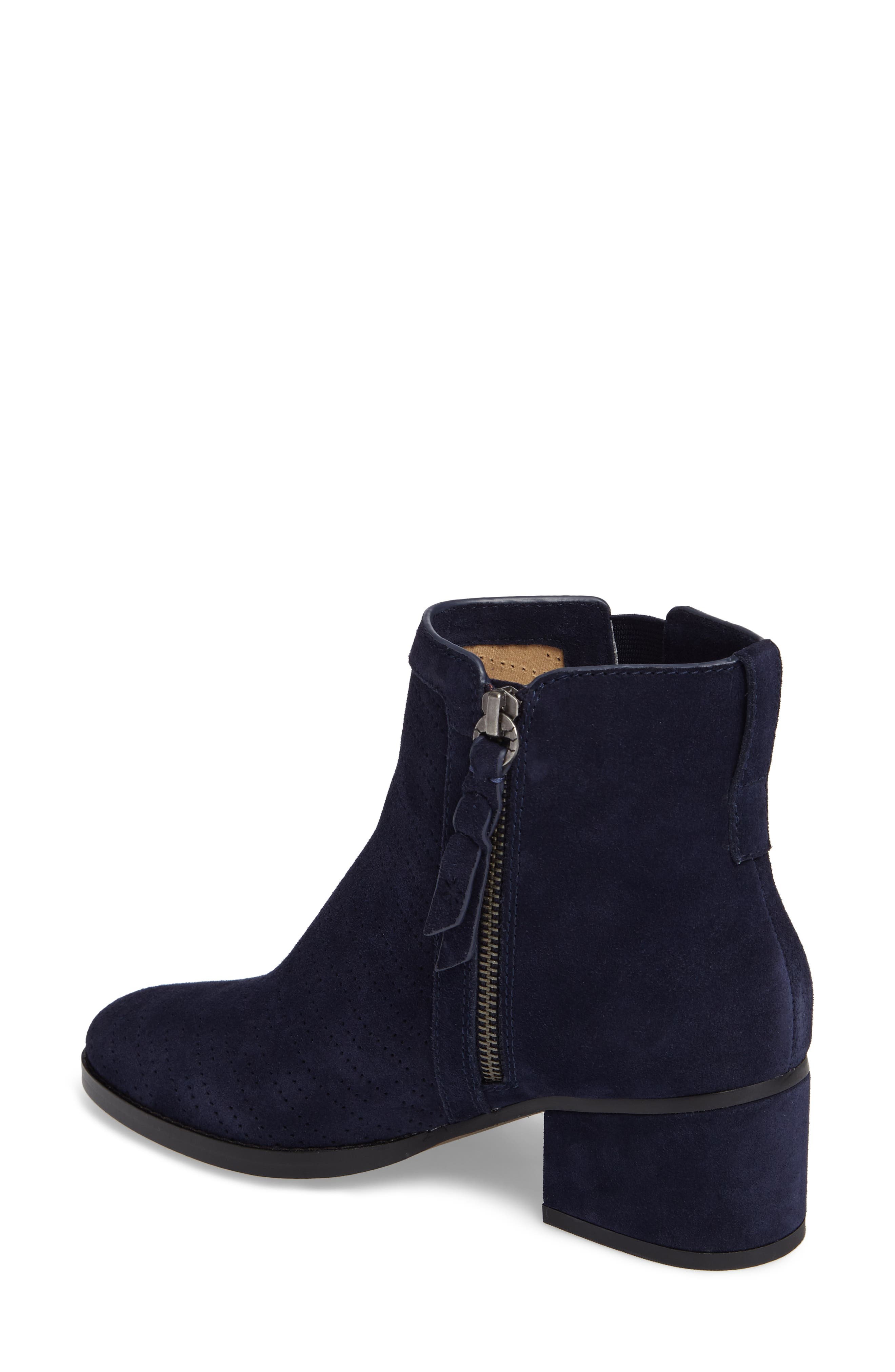 Rosalie Perforated Bootie,                             Alternate thumbnail 6, color,