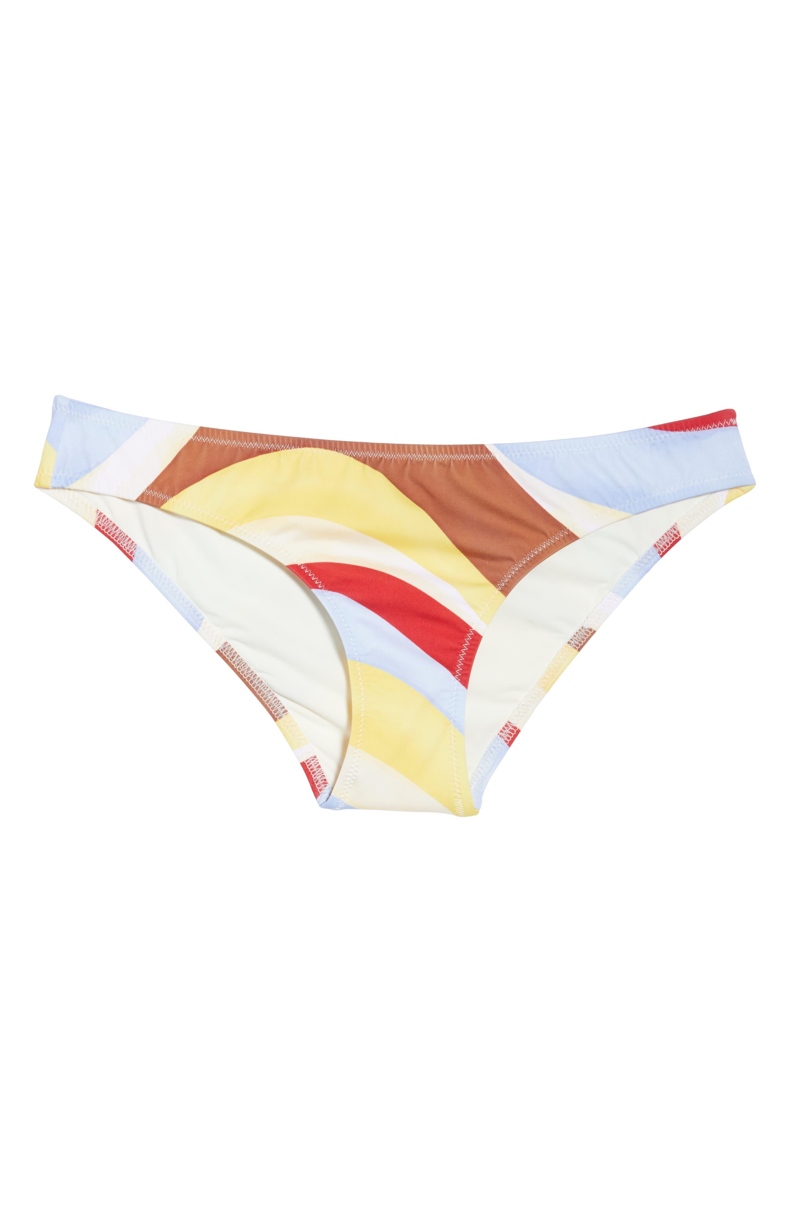 Elle Bikini Bottoms,                             Alternate thumbnail 6, color,                             408
