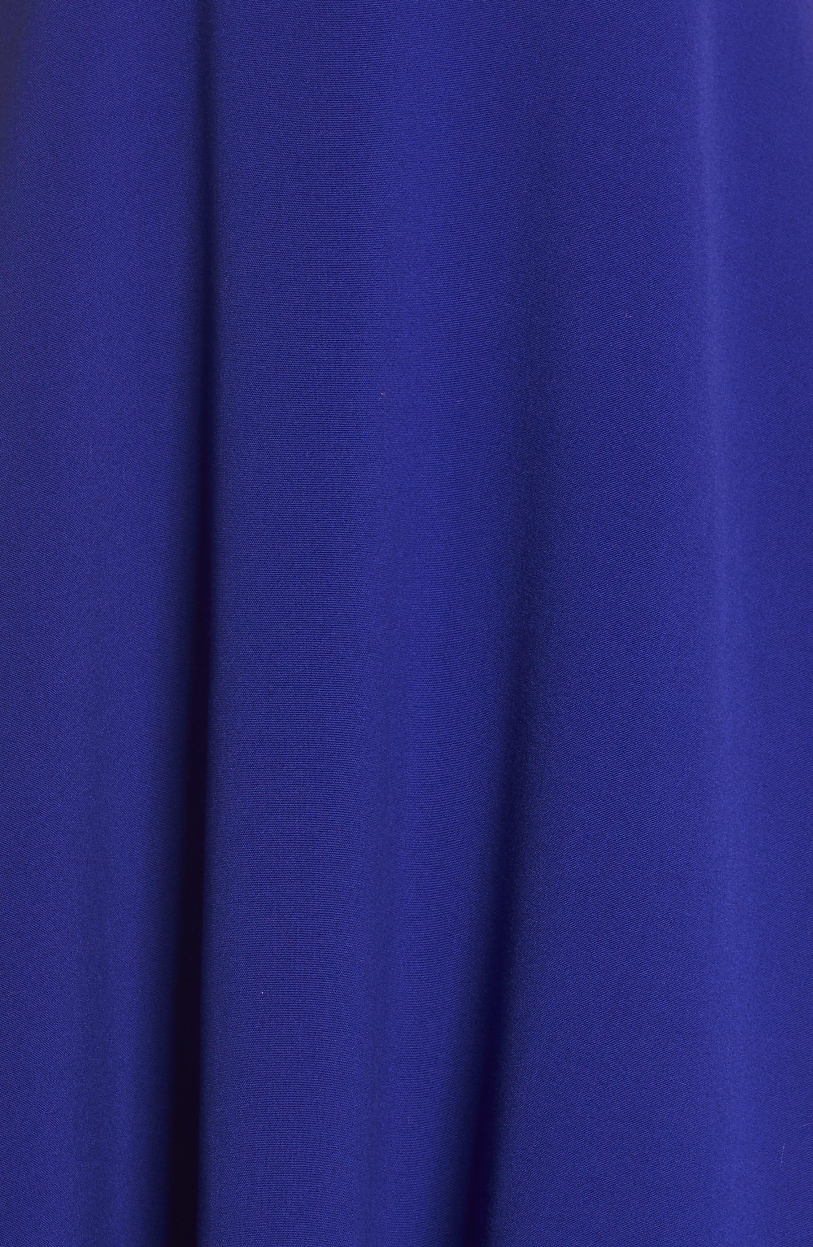 Whisper Ruth Fit & Flare Dress,                             Alternate thumbnail 6, color,                             405