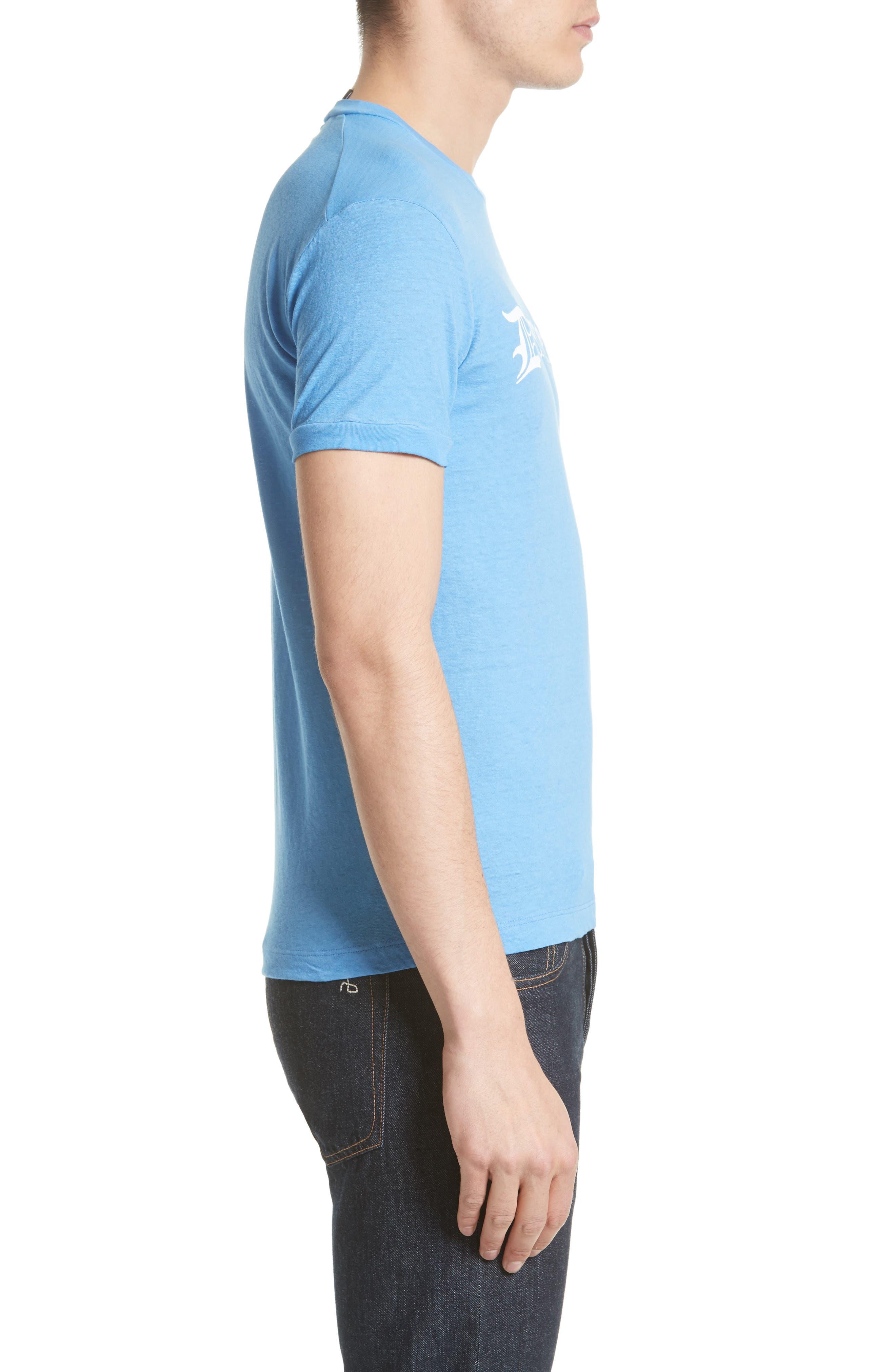 Dquared2 Cotton T-Shirt,                             Alternate thumbnail 3, color,                             449
