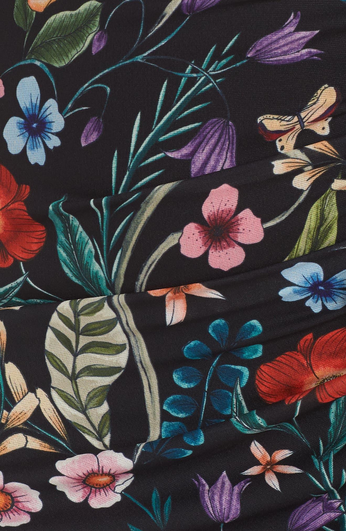 Gardenia Ruffle Slipdress,                             Alternate thumbnail 5, color,