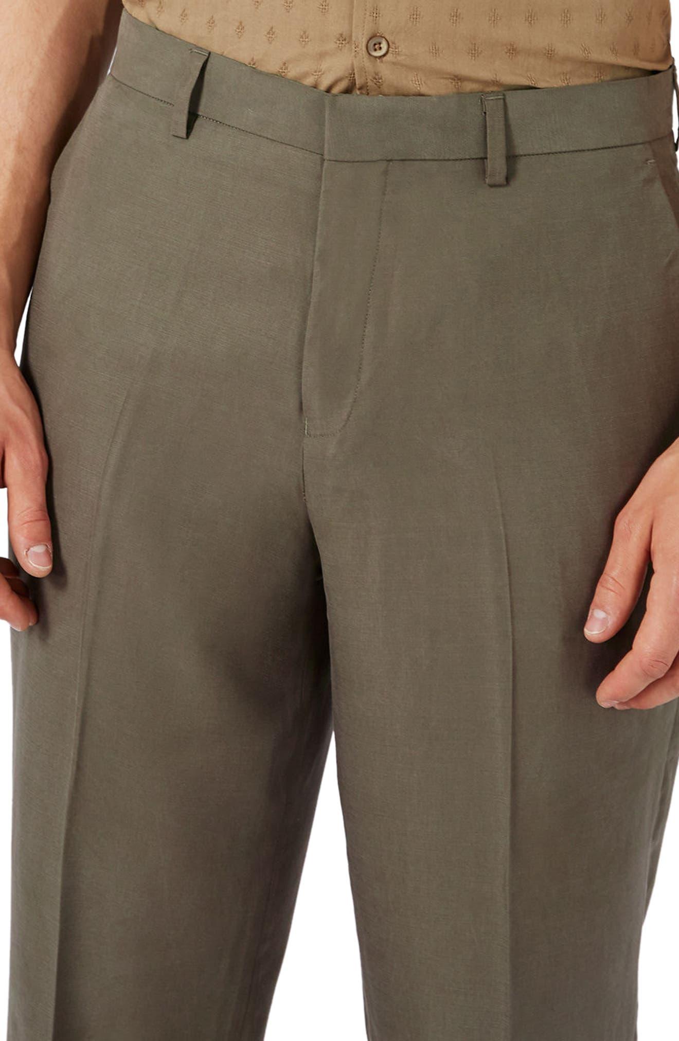 Crop Wide Leg Trousers,                             Alternate thumbnail 3, color,                             300