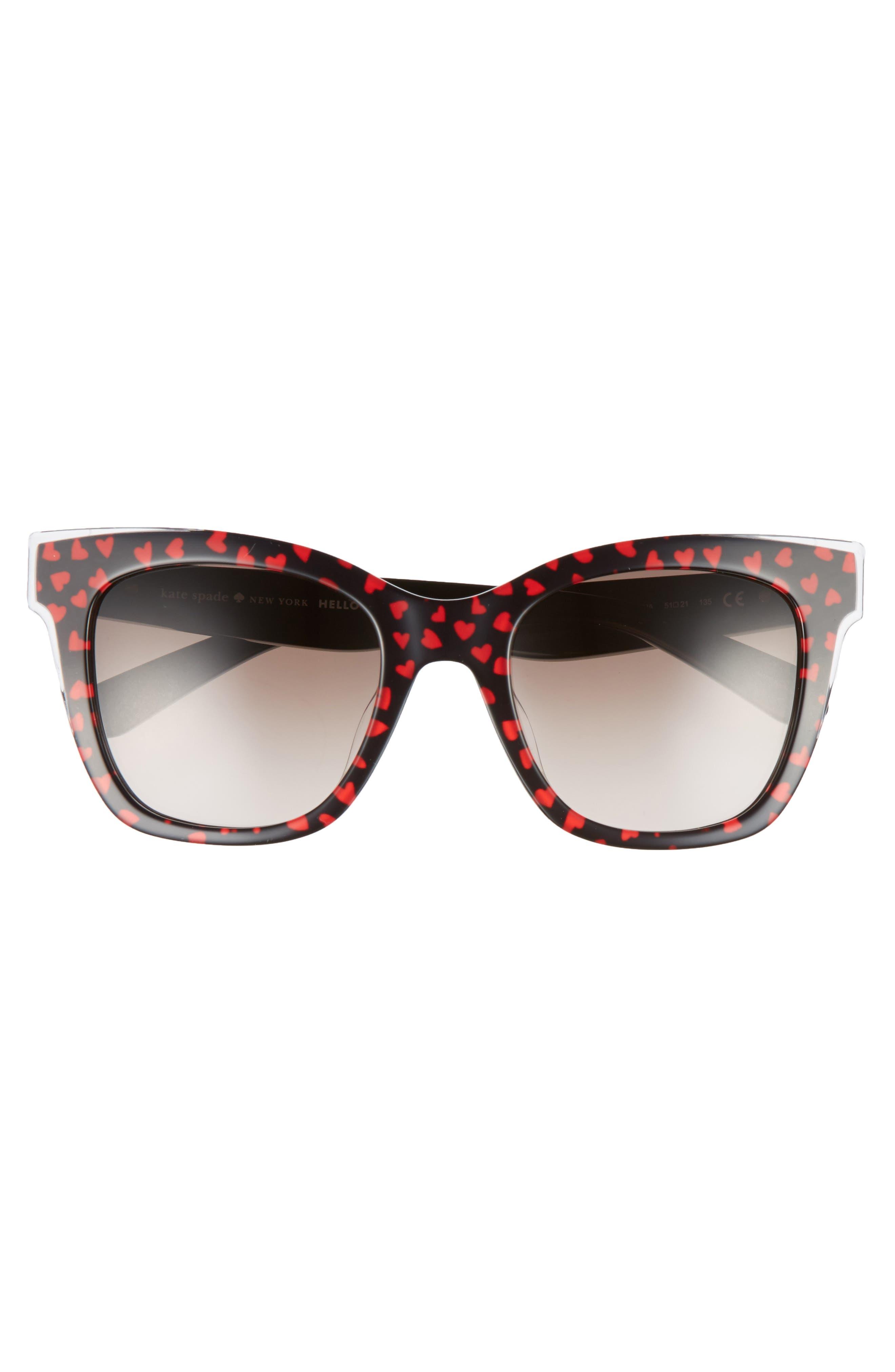 emmylou 51mm sunglasses,                             Alternate thumbnail 3, color,                             002
