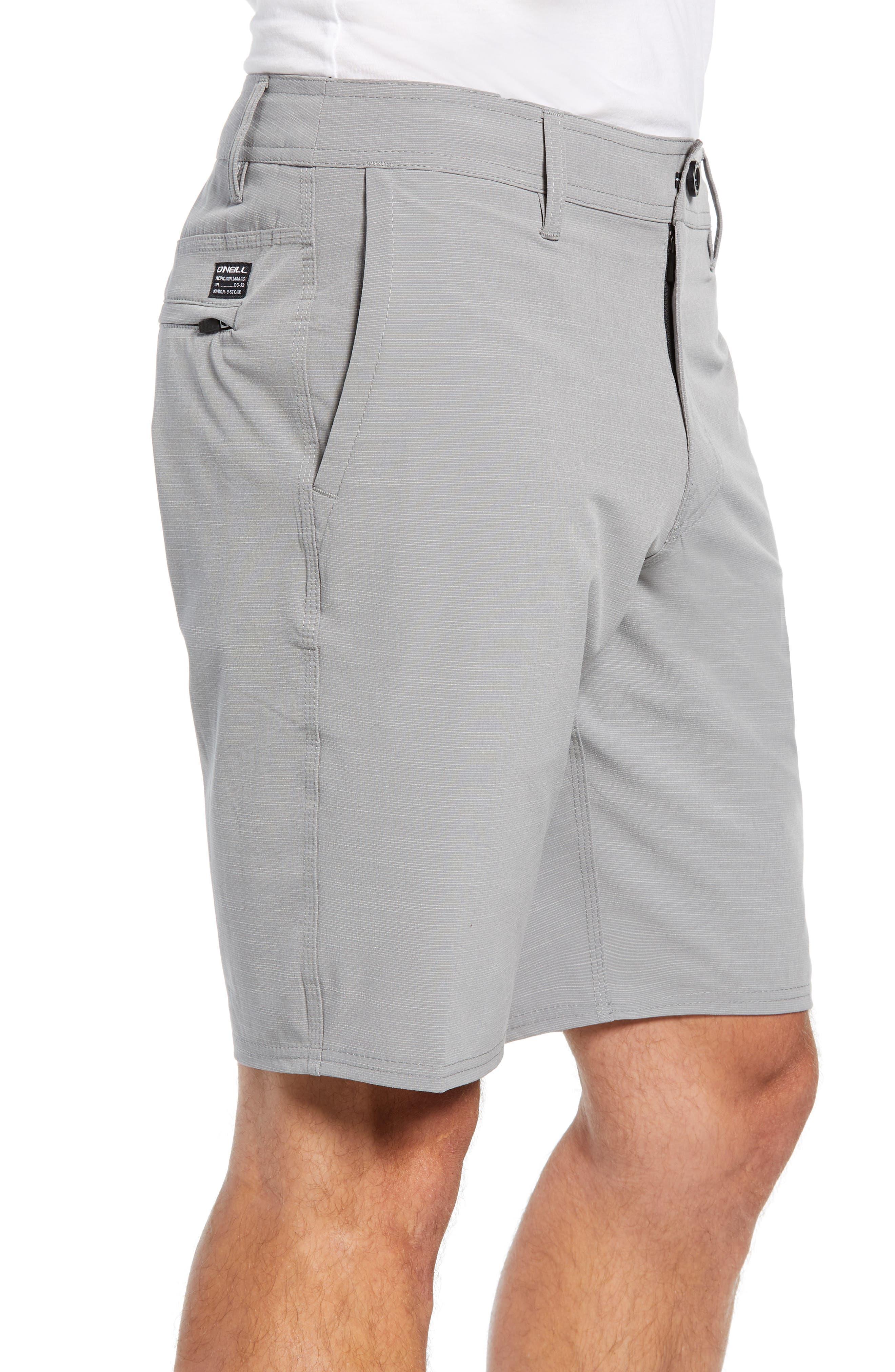 Locked Slub Hybrid Shorts,                             Alternate thumbnail 3, color,                             039