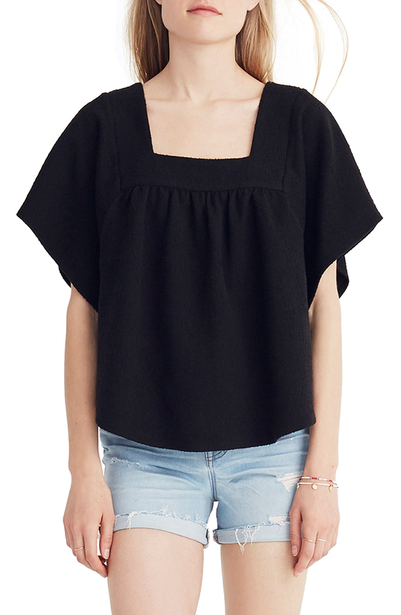 Solid Butterfly Top,                             Main thumbnail 1, color,