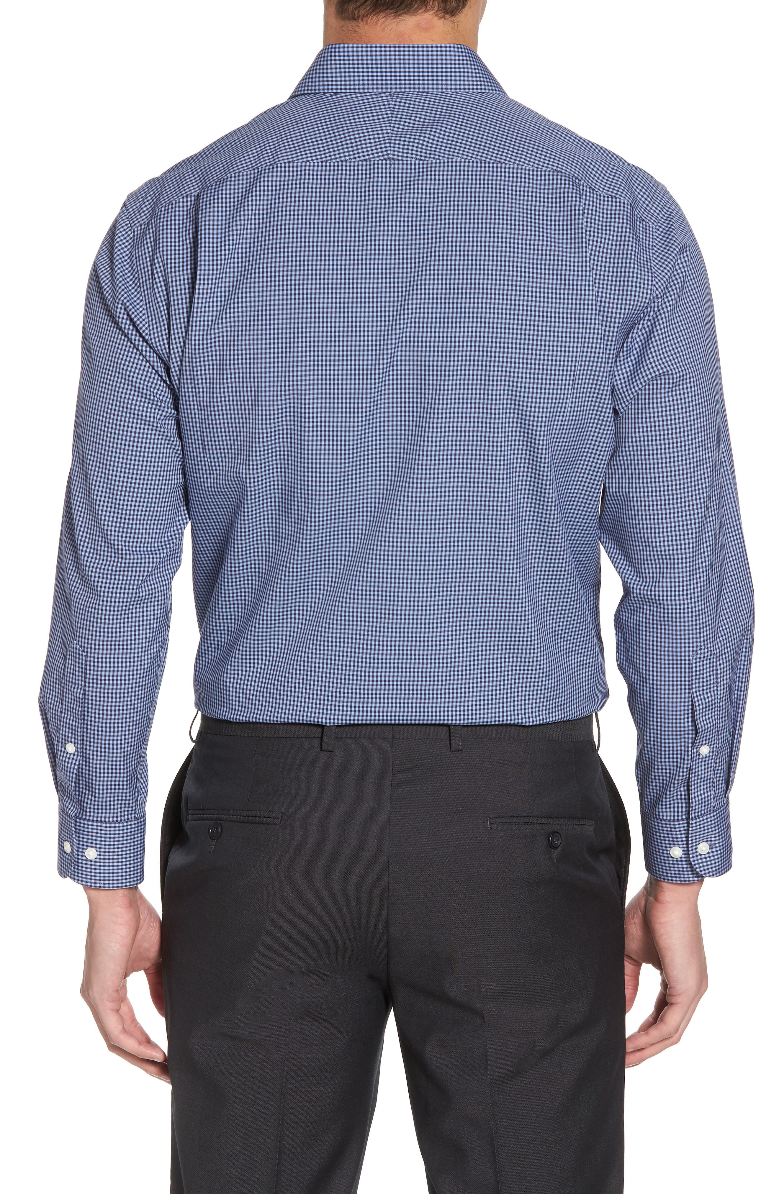 Smartcare<sup>™</sup> Traditional Fit Check Dress Shirt,                             Alternate thumbnail 10, color,