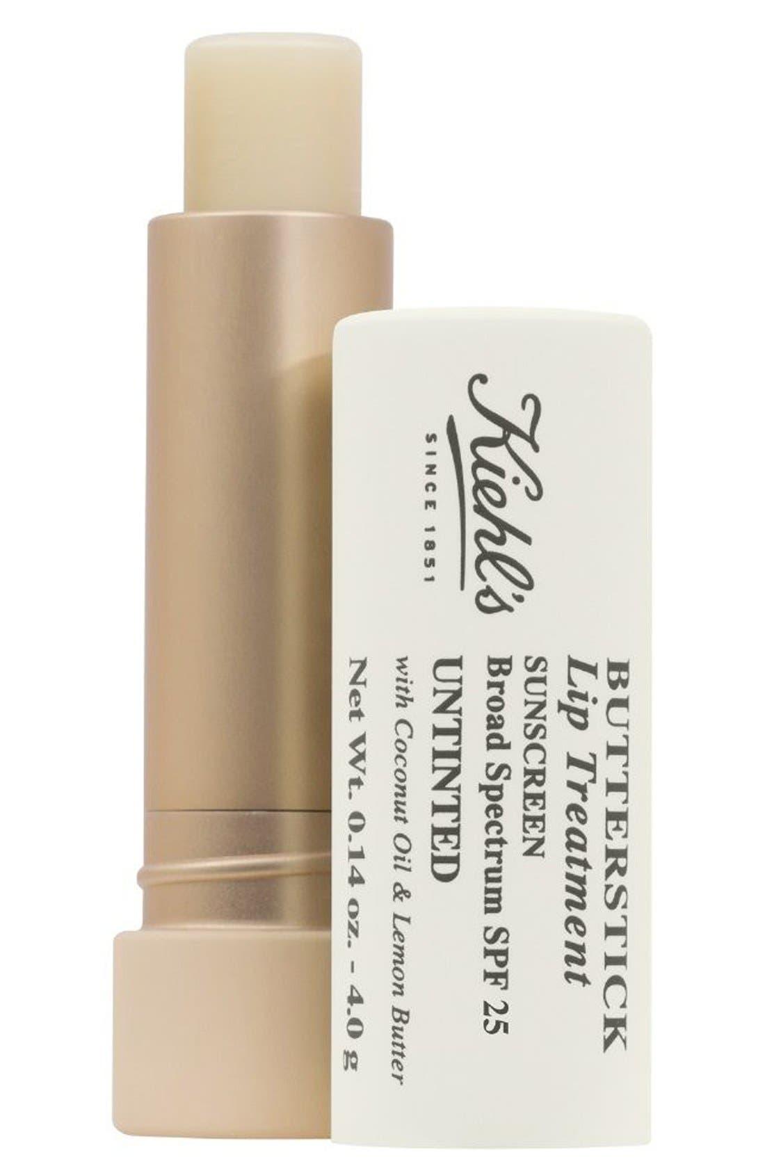 Butterstick Lip Treatment SPF 25,                             Main thumbnail 1, color,                             100