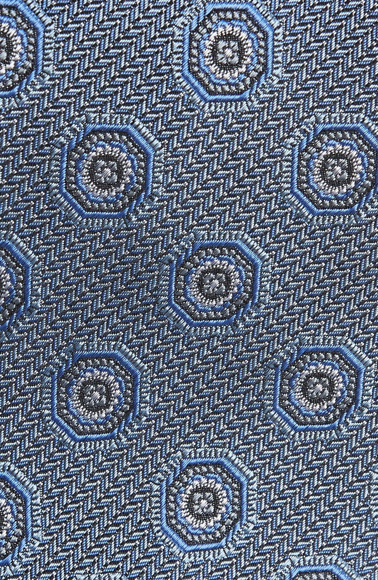 Medallion Silk Tie,                             Alternate thumbnail 2, color,                             400