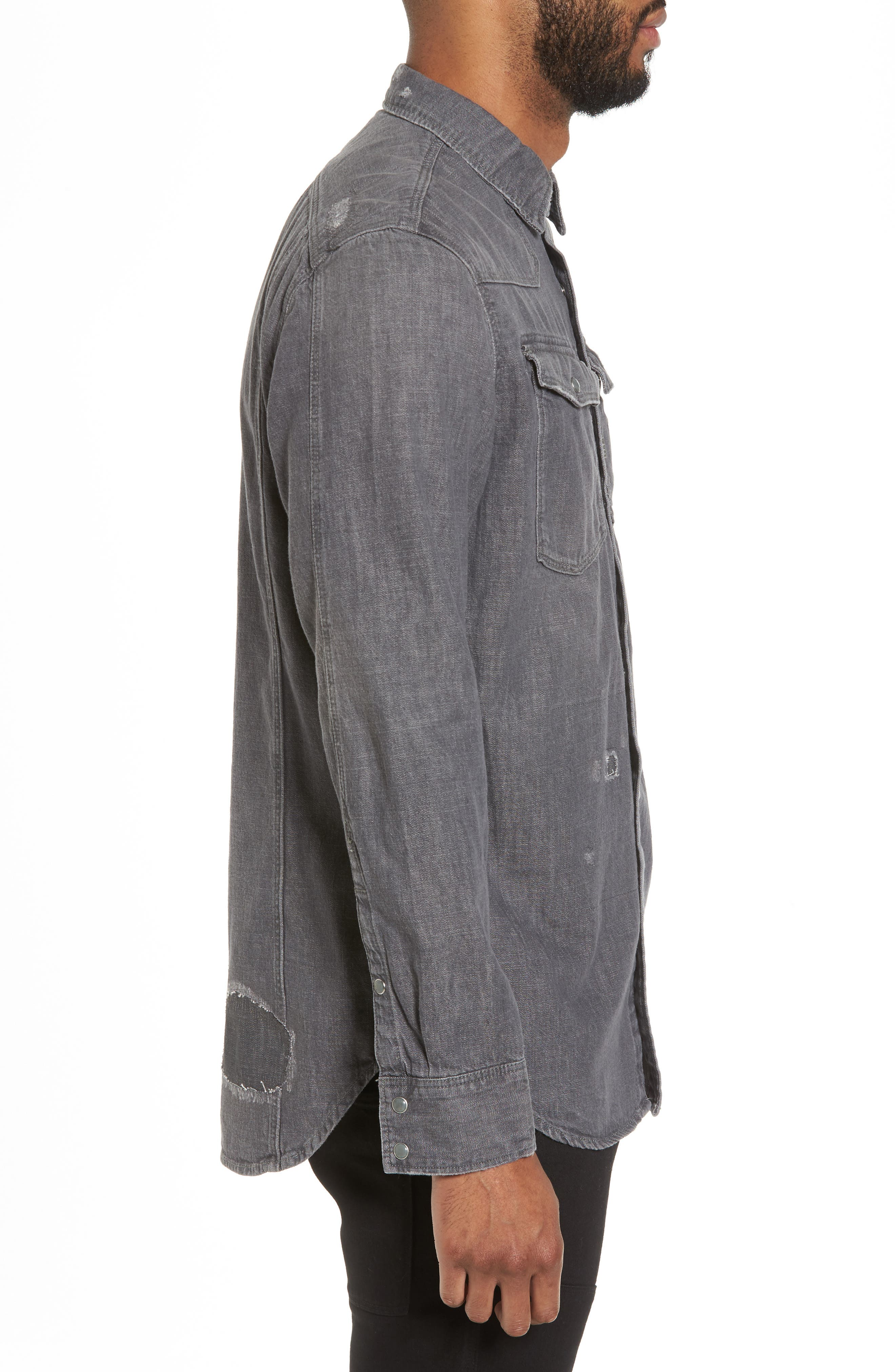 3301 Craser Denim Shirt,                             Alternate thumbnail 3, color,                             025