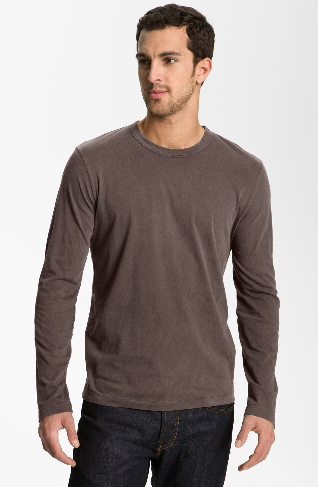 Long Sleeve Crewneck T-Shirt,                             Main thumbnail 16, color,