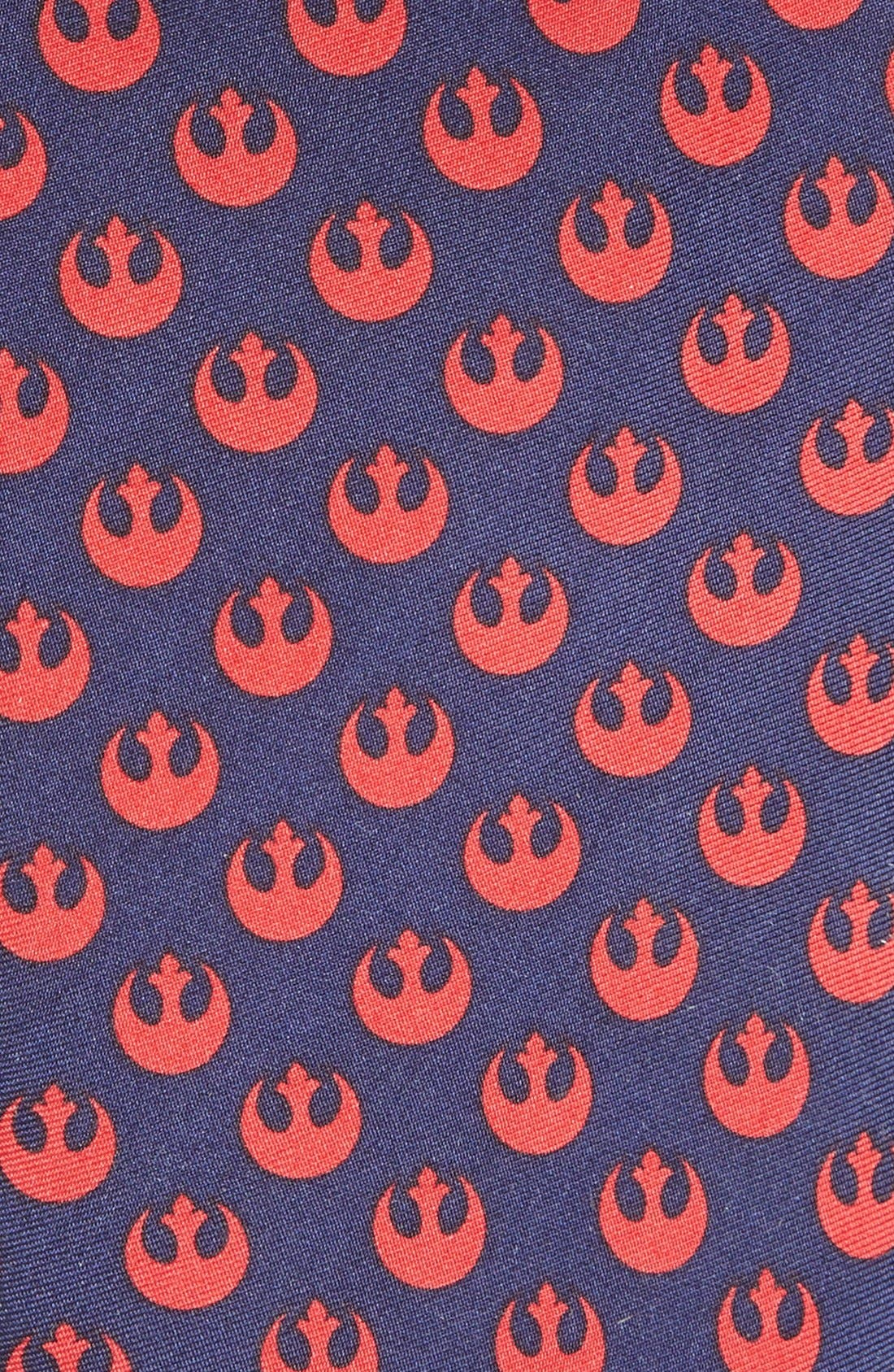 Star Wars<sup>™</sup> - Rebel' Silk Tie,                             Alternate thumbnail 2, color,