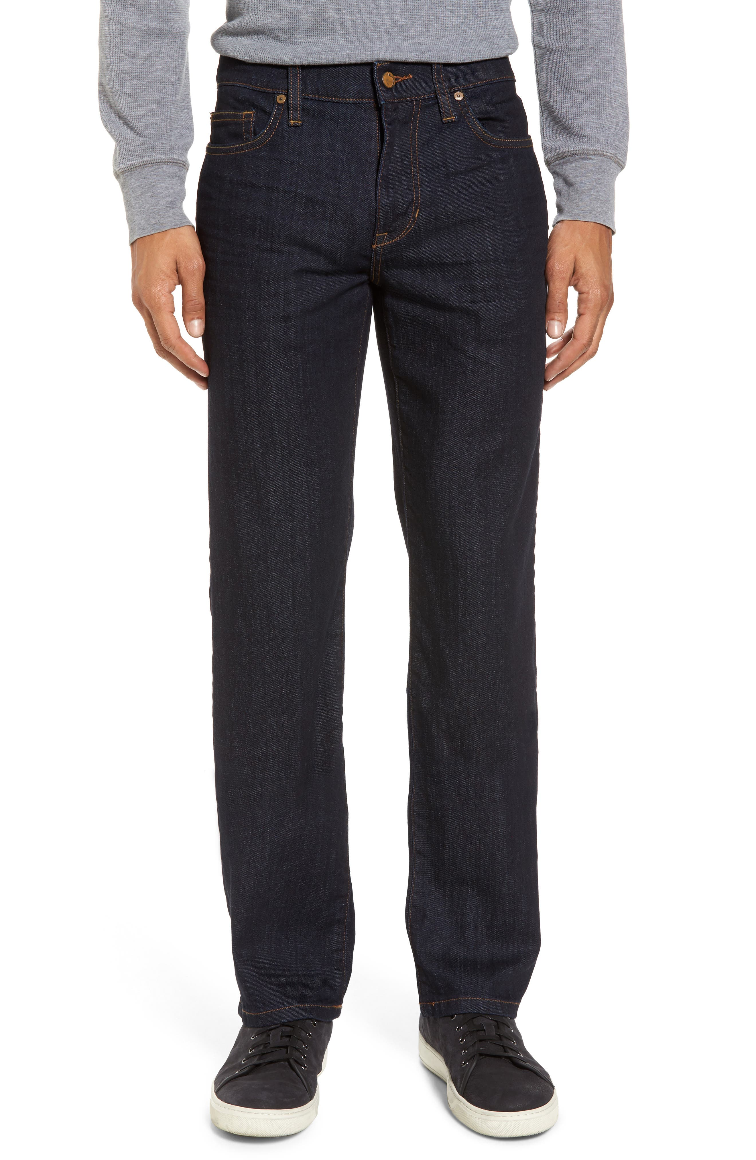 Classic Straight Fit Jeans,                         Main,                         color, 400