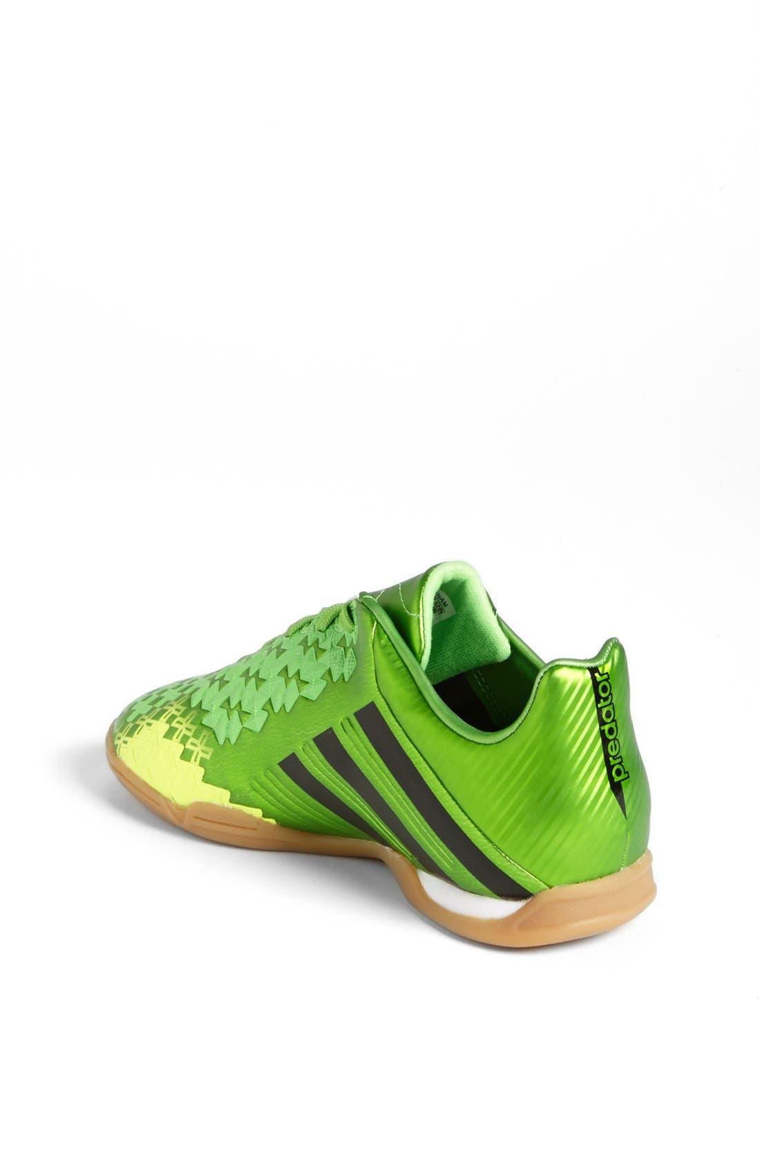 ADIDAS,                             'Predator Absolado LZ' Indoor Soccer Shoe,                             Alternate thumbnail 2, color,                             301