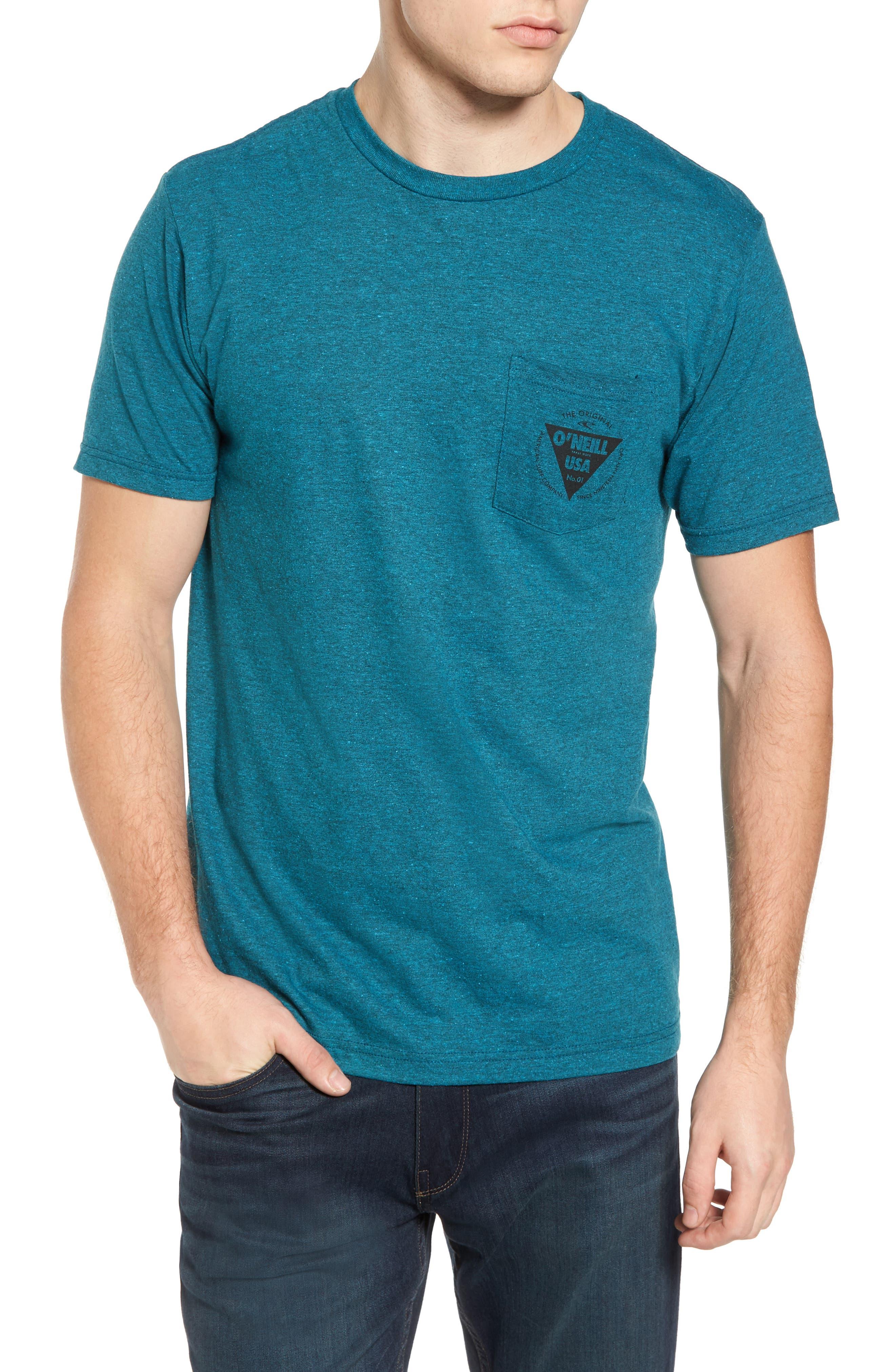 Diver Graphic Pocket T-Shirt,                             Main thumbnail 3, color,