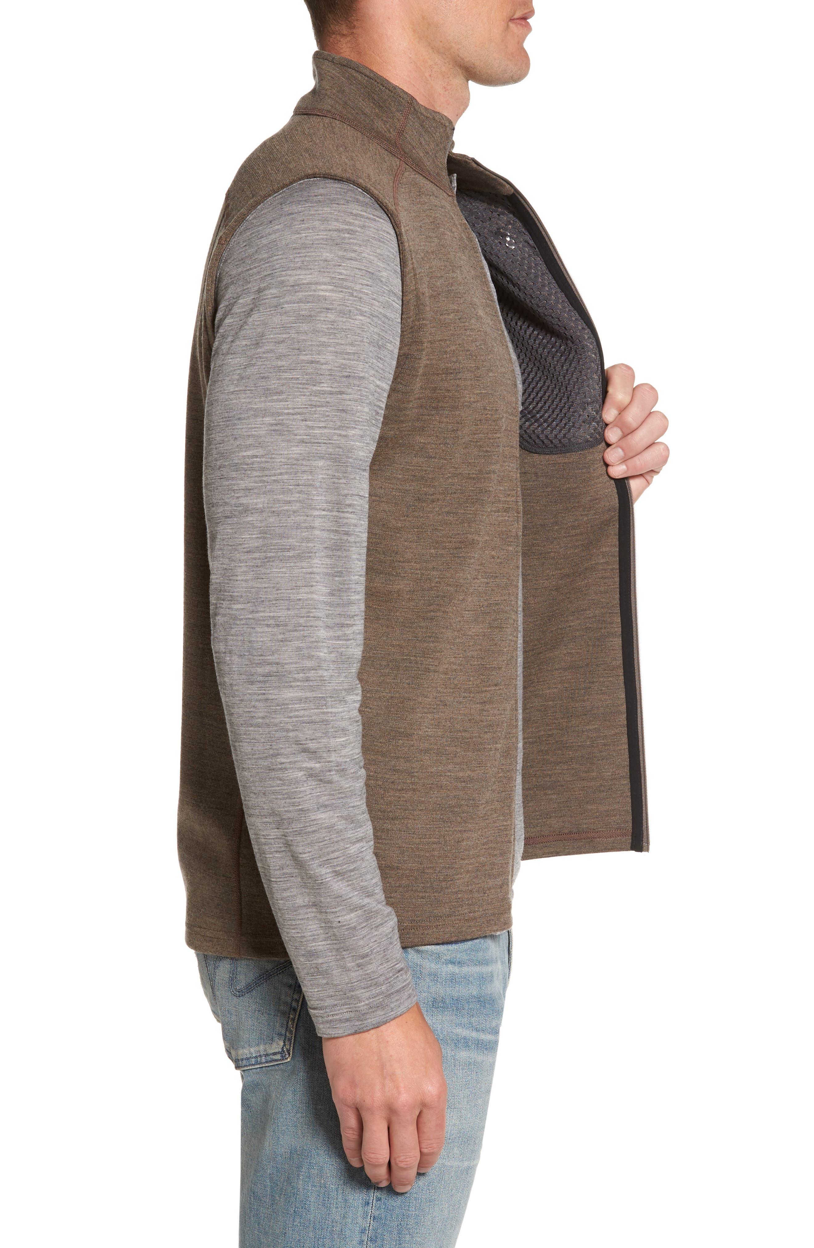 'Shak' Merino Wool Vest,                             Alternate thumbnail 3, color,                             250