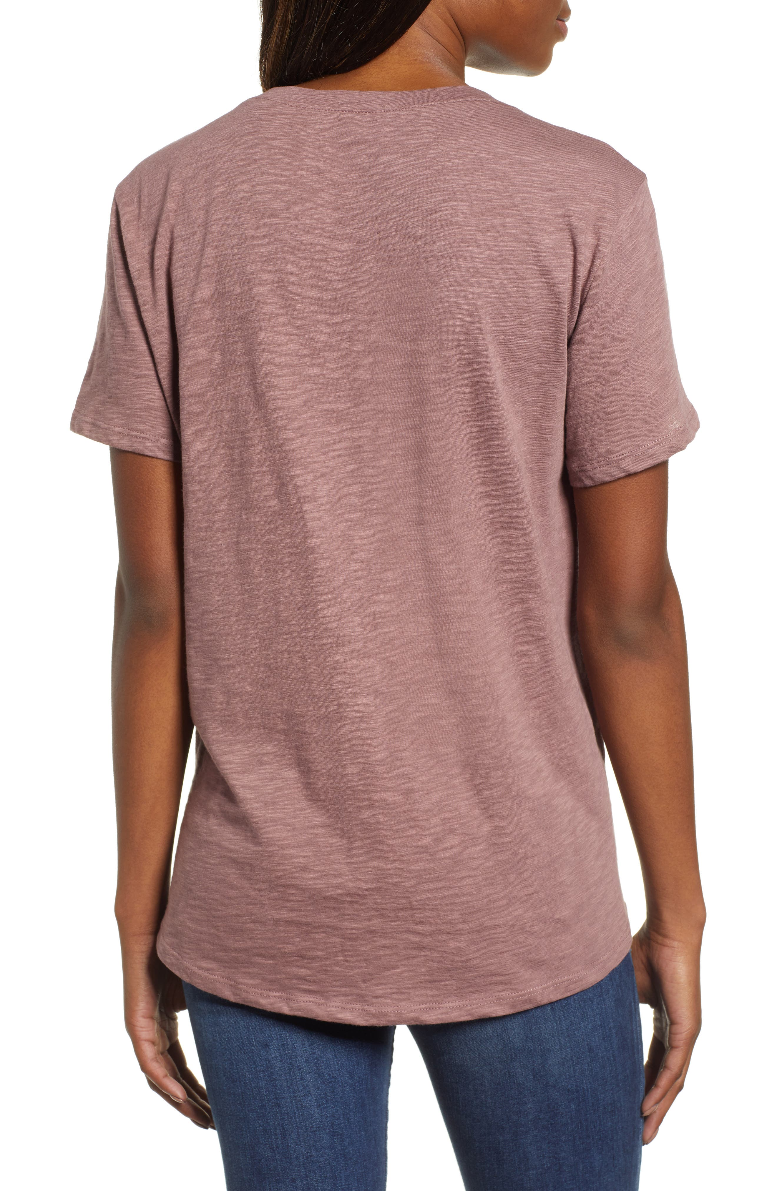 Off Duty Graphic Tee,                             Alternate thumbnail 2, color,                             PURPLE TAUPE
