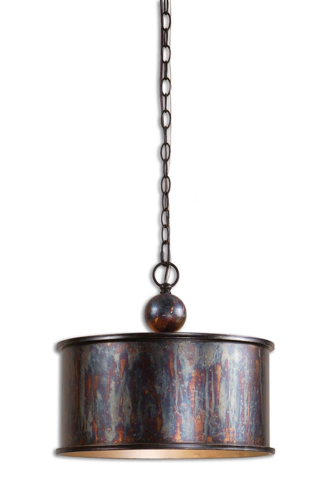 'Albiano' Bronzed Pendant Light,                         Main,                         color, 220