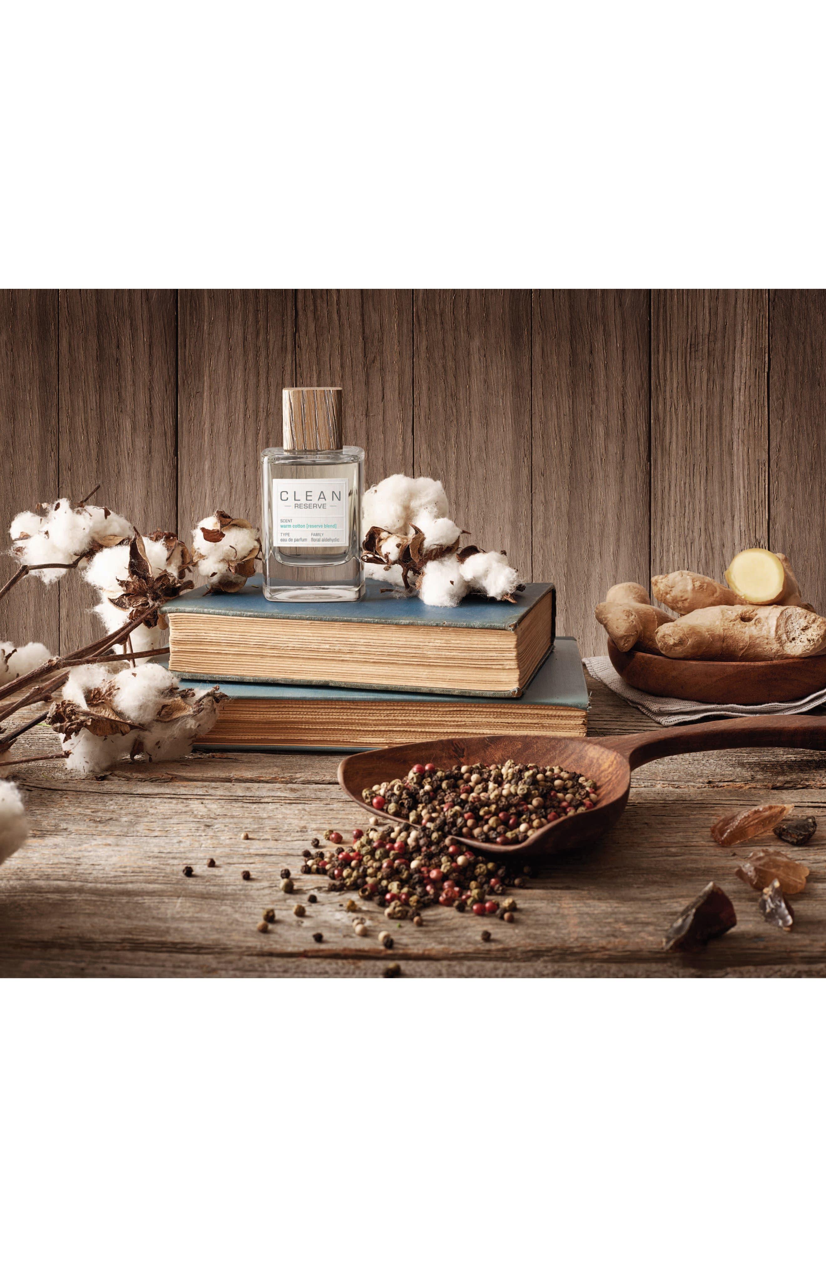 Reserve Blend Warm Cotton Eau de Parfum,                             Alternate thumbnail 5, color,                             NO COLOR