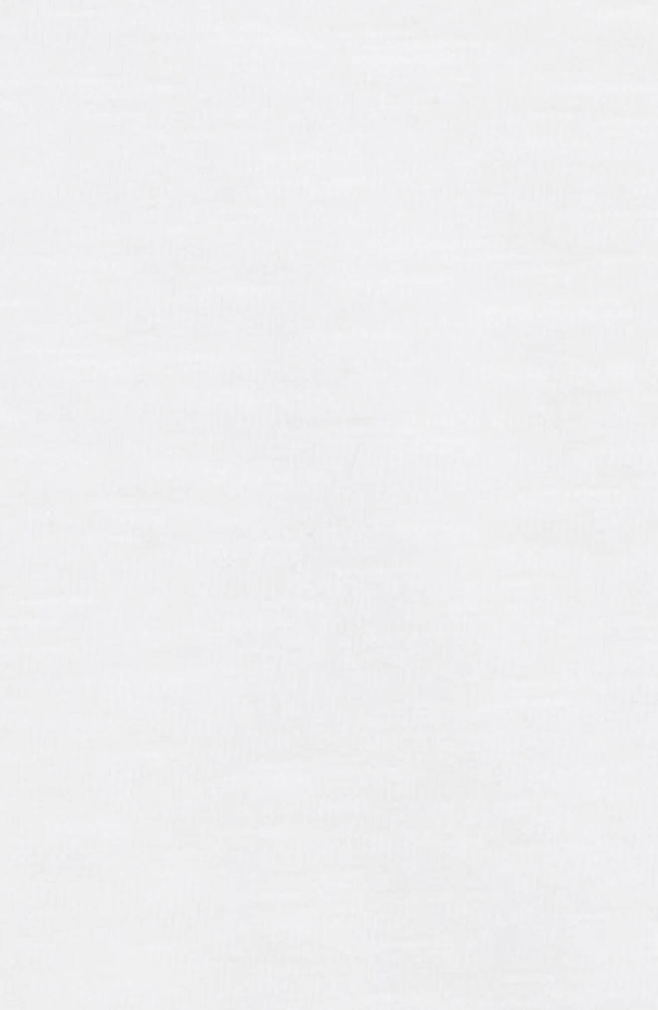 Slub Knit T-Shirt,                             Alternate thumbnail 2, color,                             WHITE