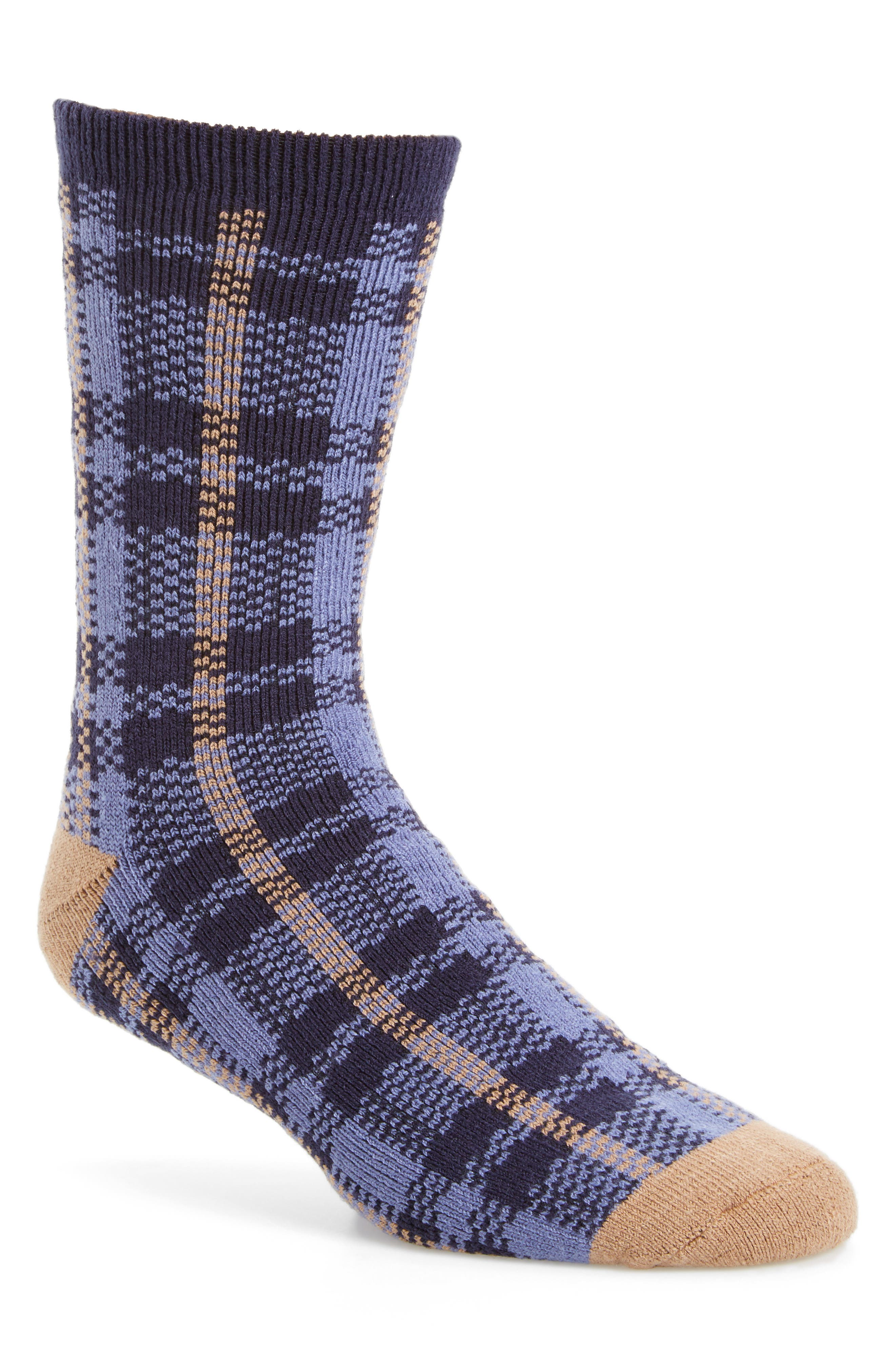 Plaid Socks,                             Main thumbnail 3, color,