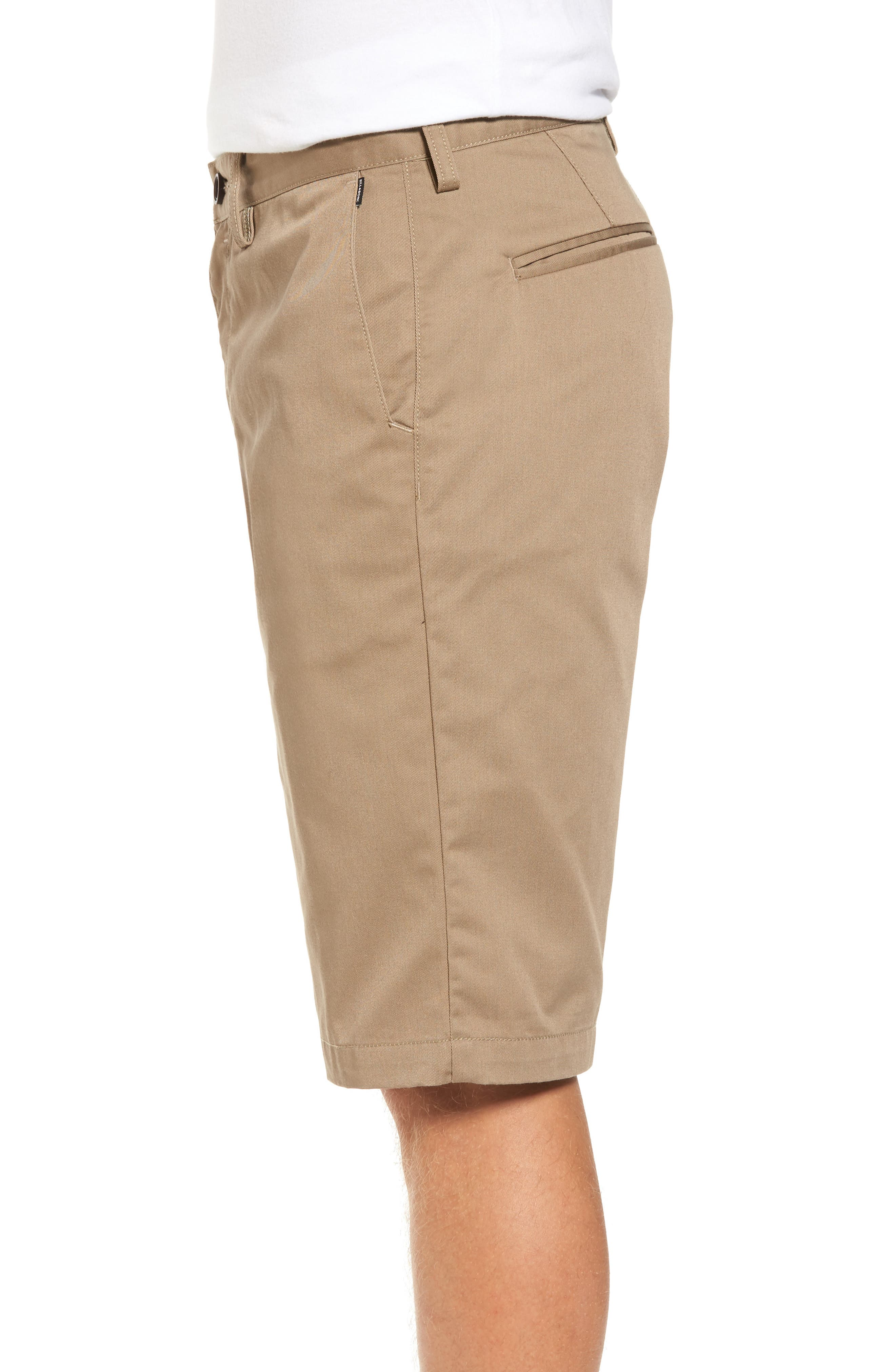 Carter Stretch Twill Shorts,                             Alternate thumbnail 10, color,