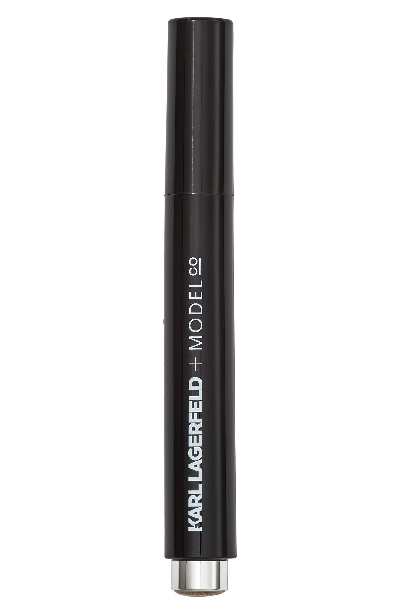 KARL LAGERFELD + MODELCO Kiss Me Karl Liquid Luminizer Strobing Pen,                             Alternate thumbnail 2, color,                             BRONZE