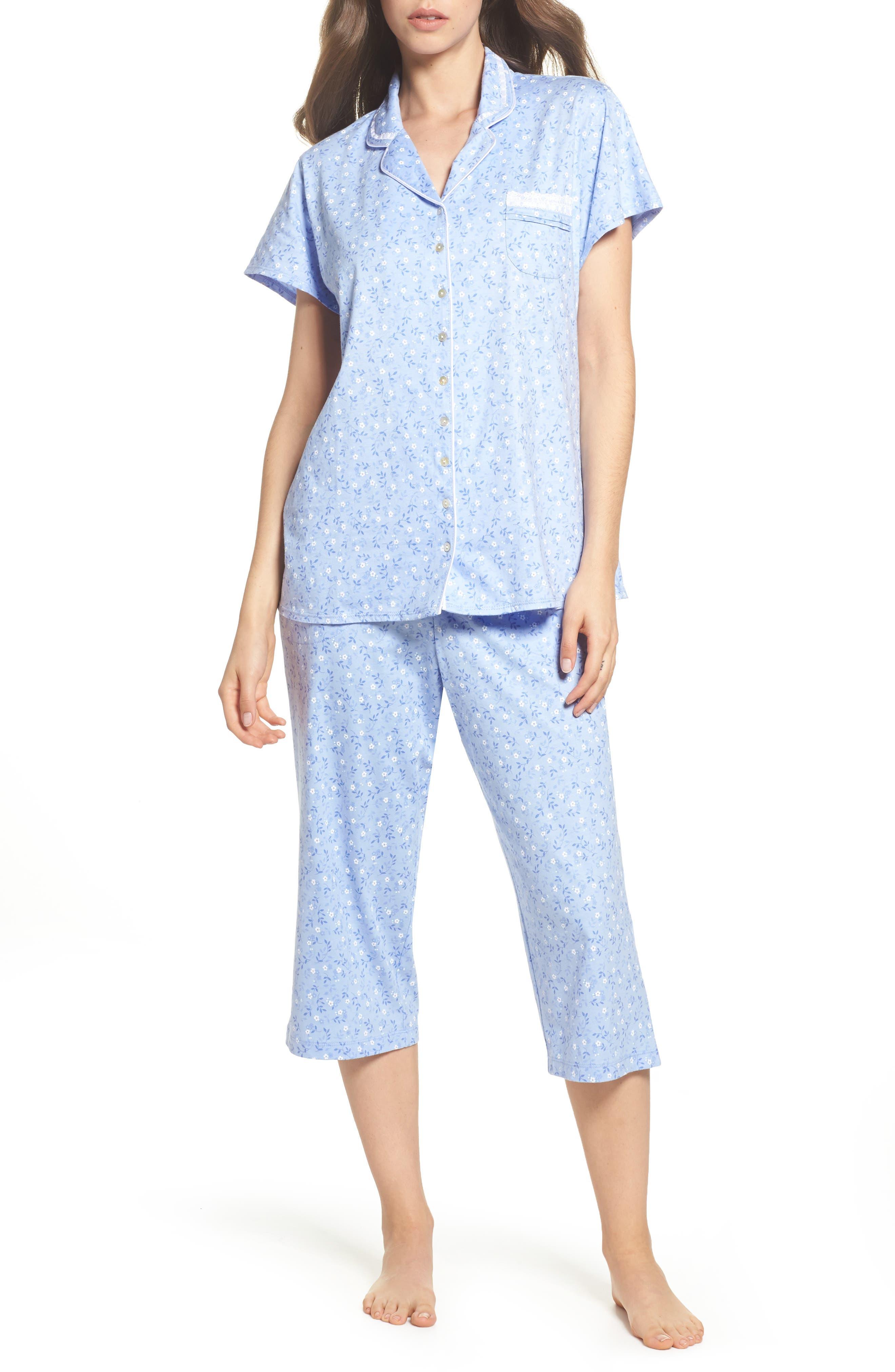 Jersey Pajamas,                             Main thumbnail 1, color,                             400