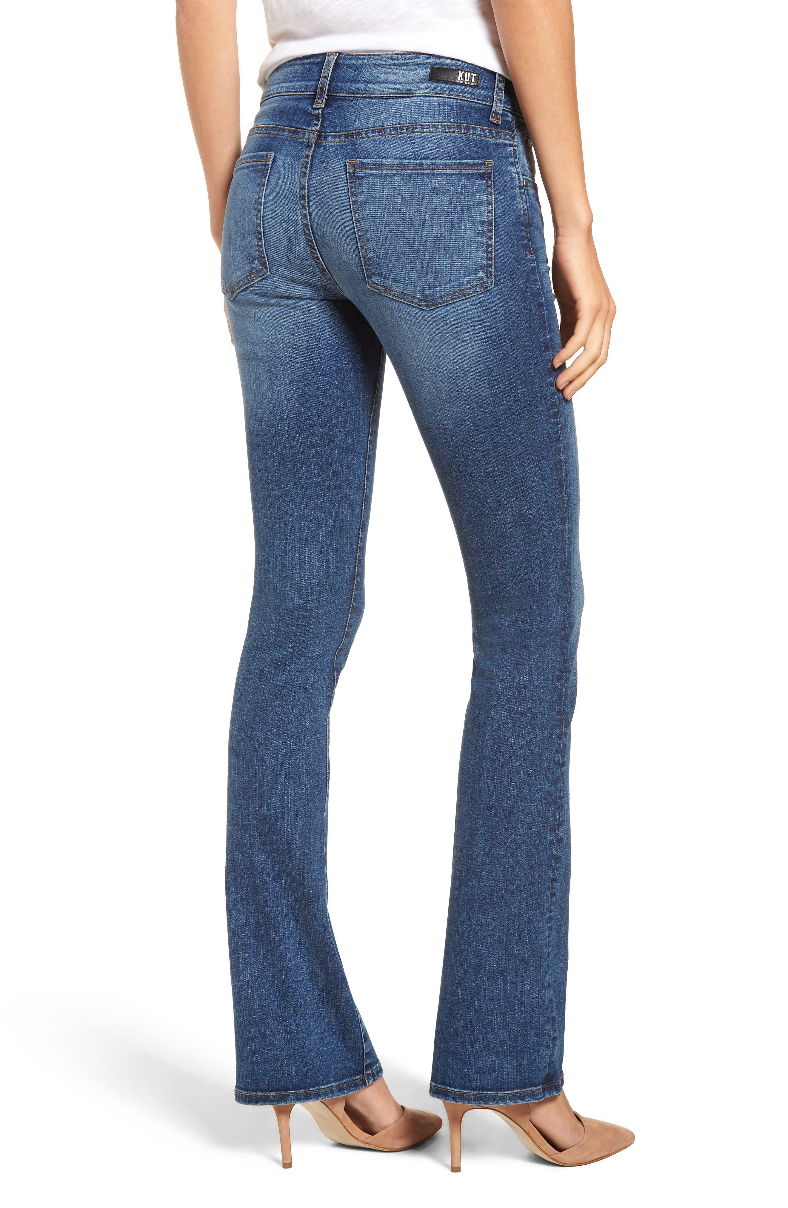 Natalie Bootcut Jeans,                             Alternate thumbnail 2, color,                             460