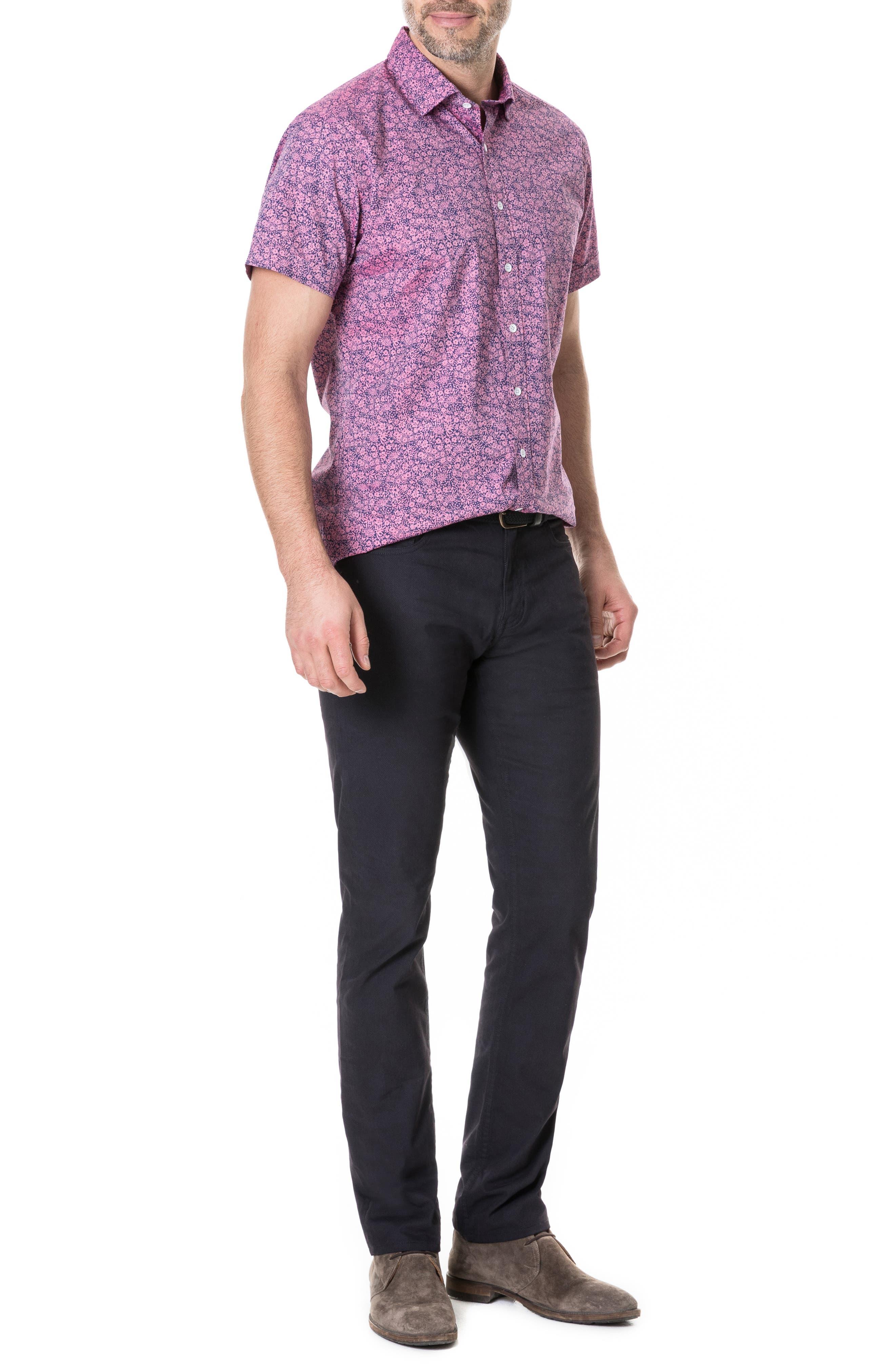 Whareflat Straight Leg Jeans,                             Alternate thumbnail 5, color,                             ASPHALT
