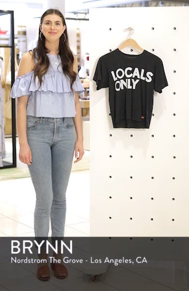 Locals Only Boyfriend Tee, sales video thumbnail