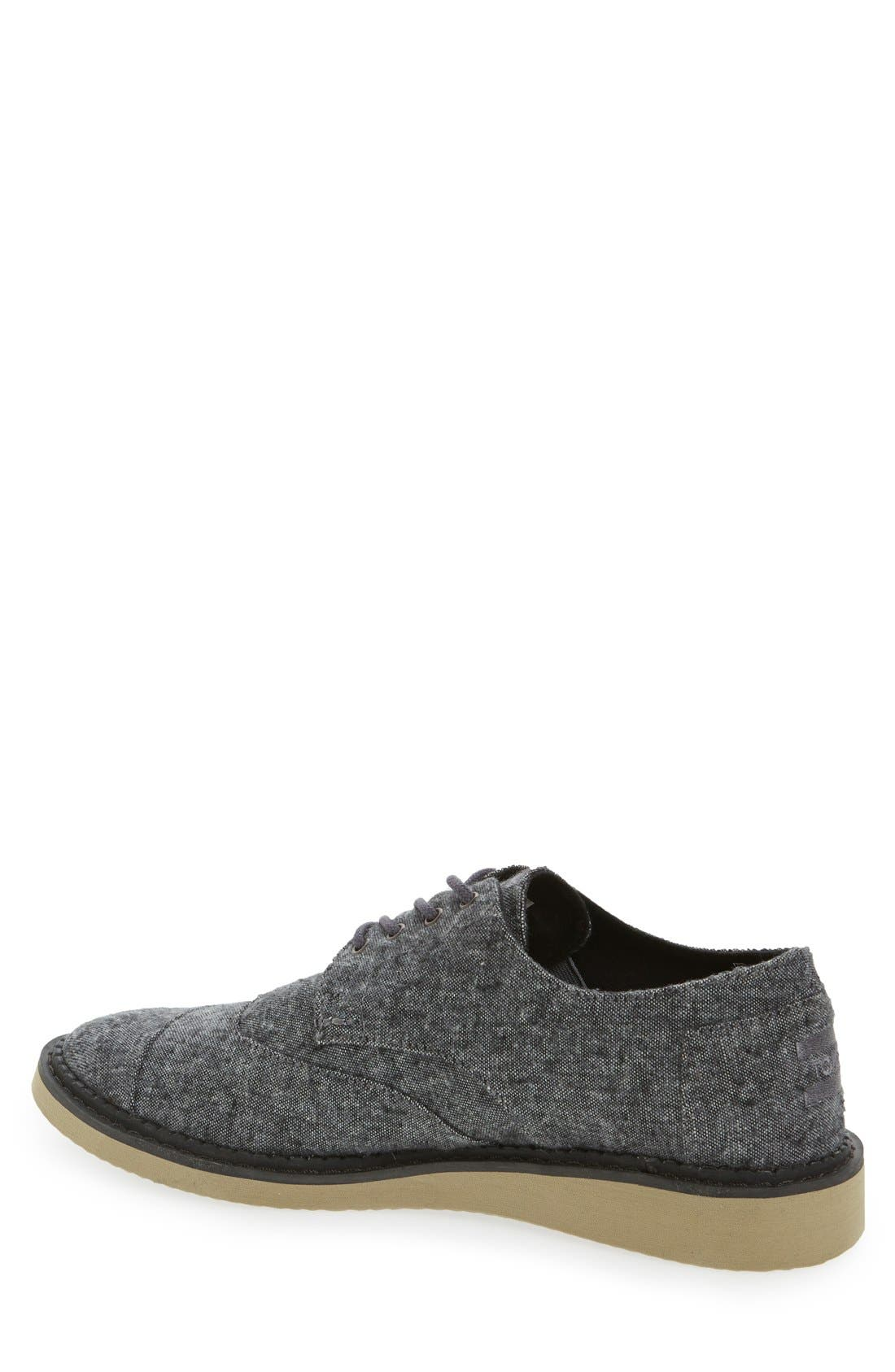'Classic Brogue' Cotton Twill Derby,                             Alternate thumbnail 36, color,