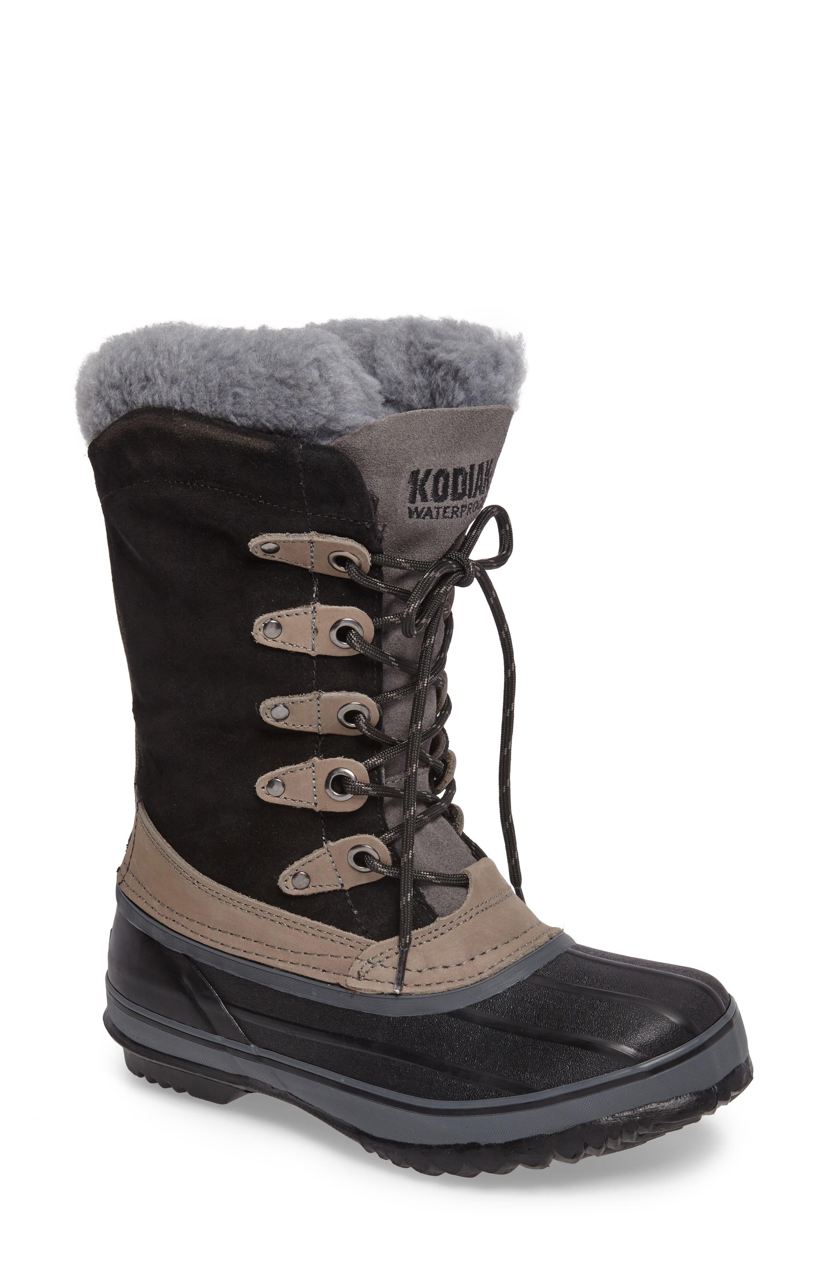 Kyra Waterproof Boot,                             Main thumbnail 1, color,                             001