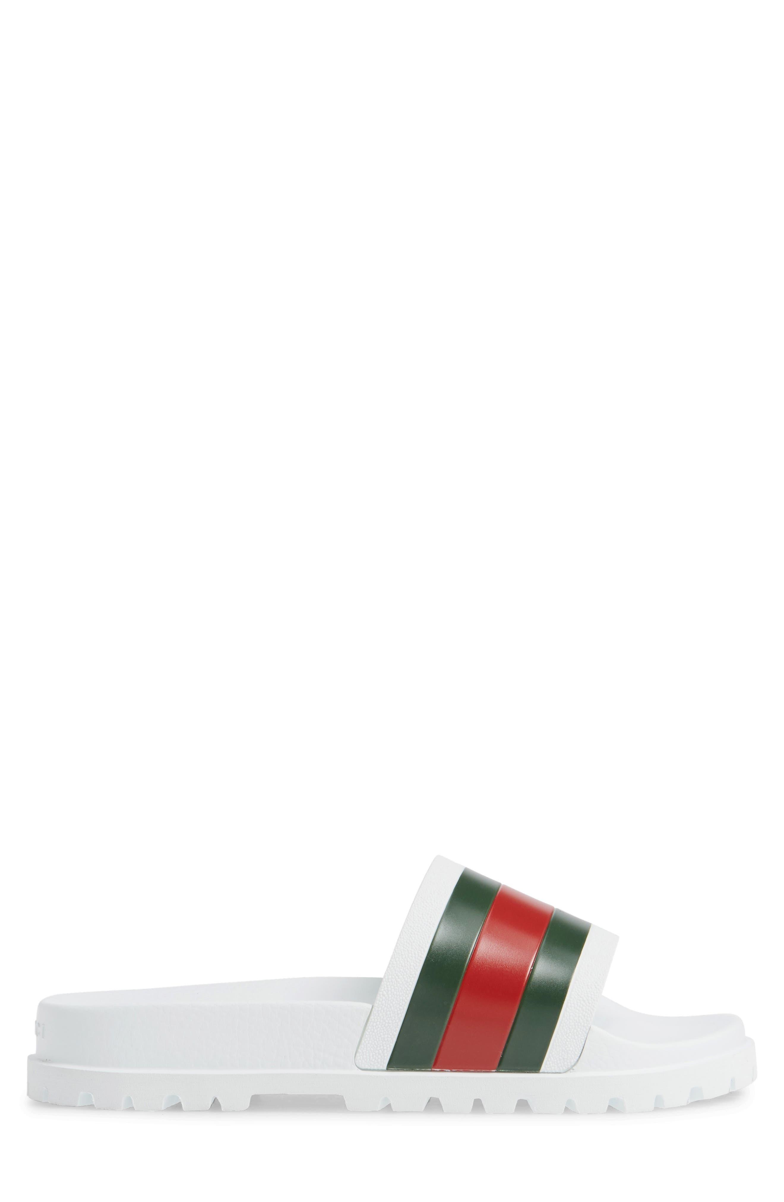 'Pursuit Treck' Slide Sandal,                             Alternate thumbnail 3, color,                             GREAT WHITE