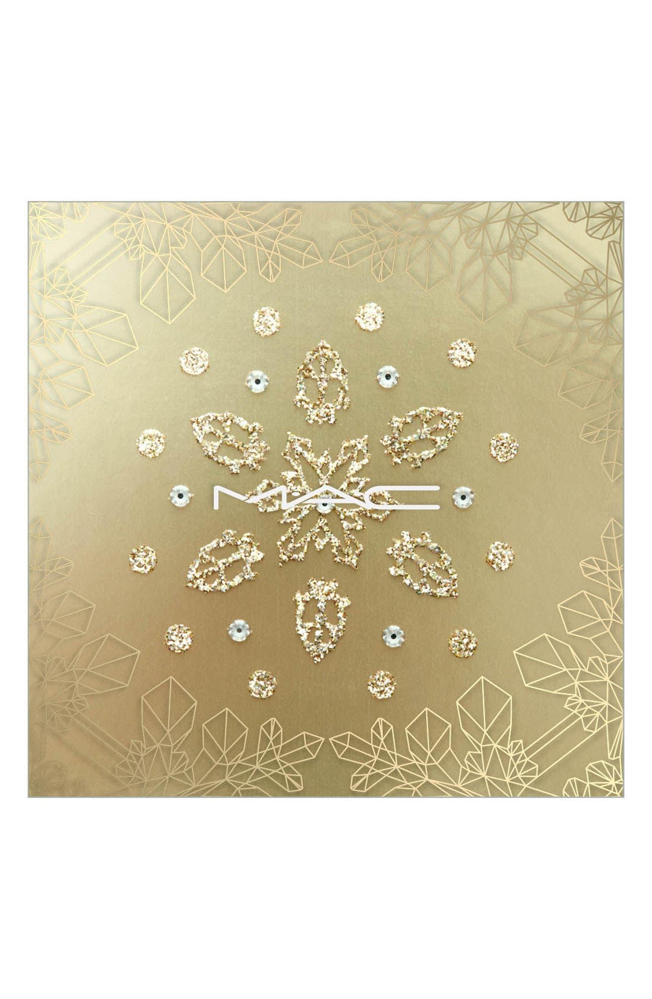 MAC Snow Ball Snowflake Adornment,                             Main thumbnail 1, color,                             000