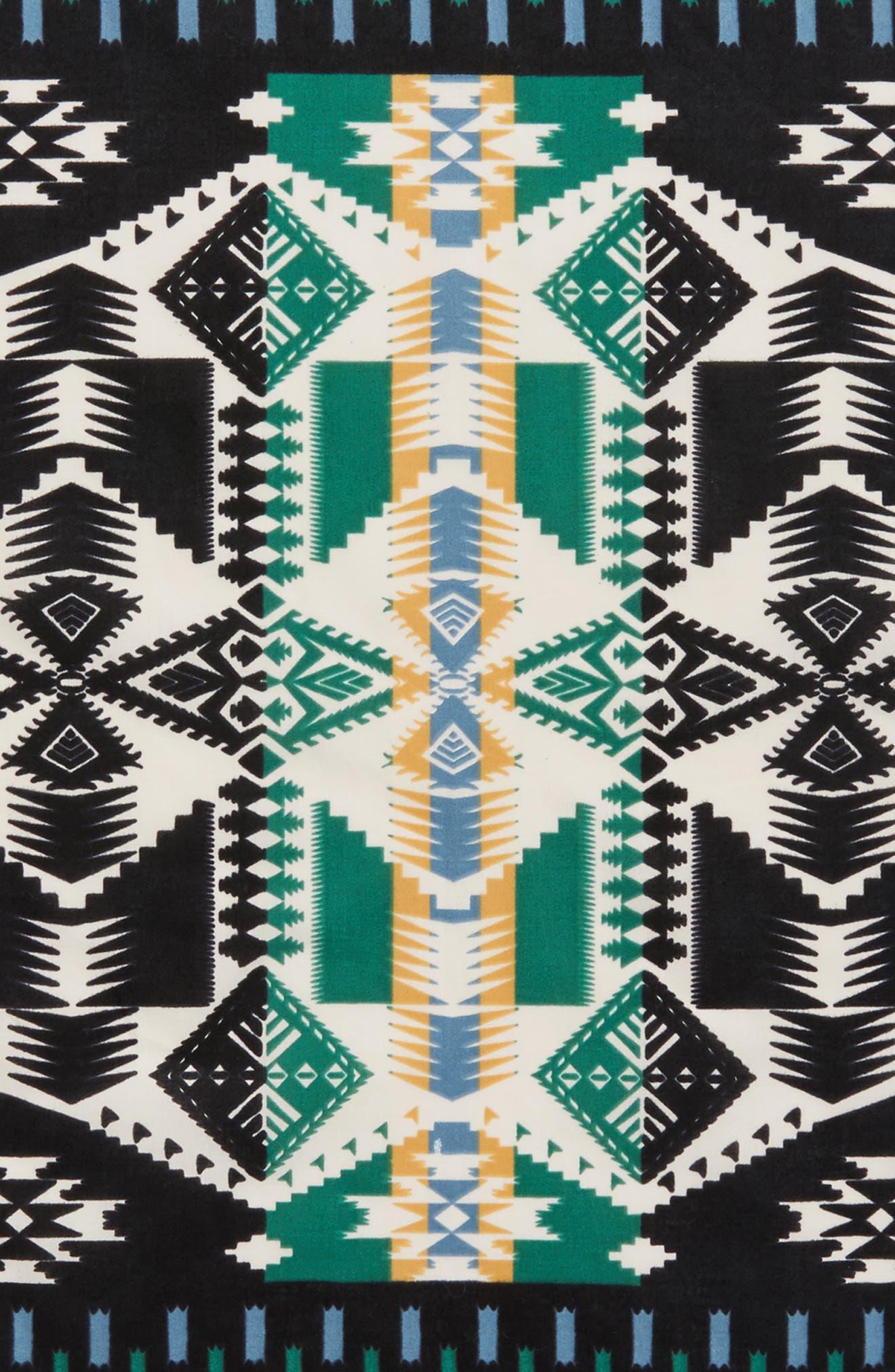 Jumbo Cotton Bandana,                             Alternate thumbnail 4, color,                             001