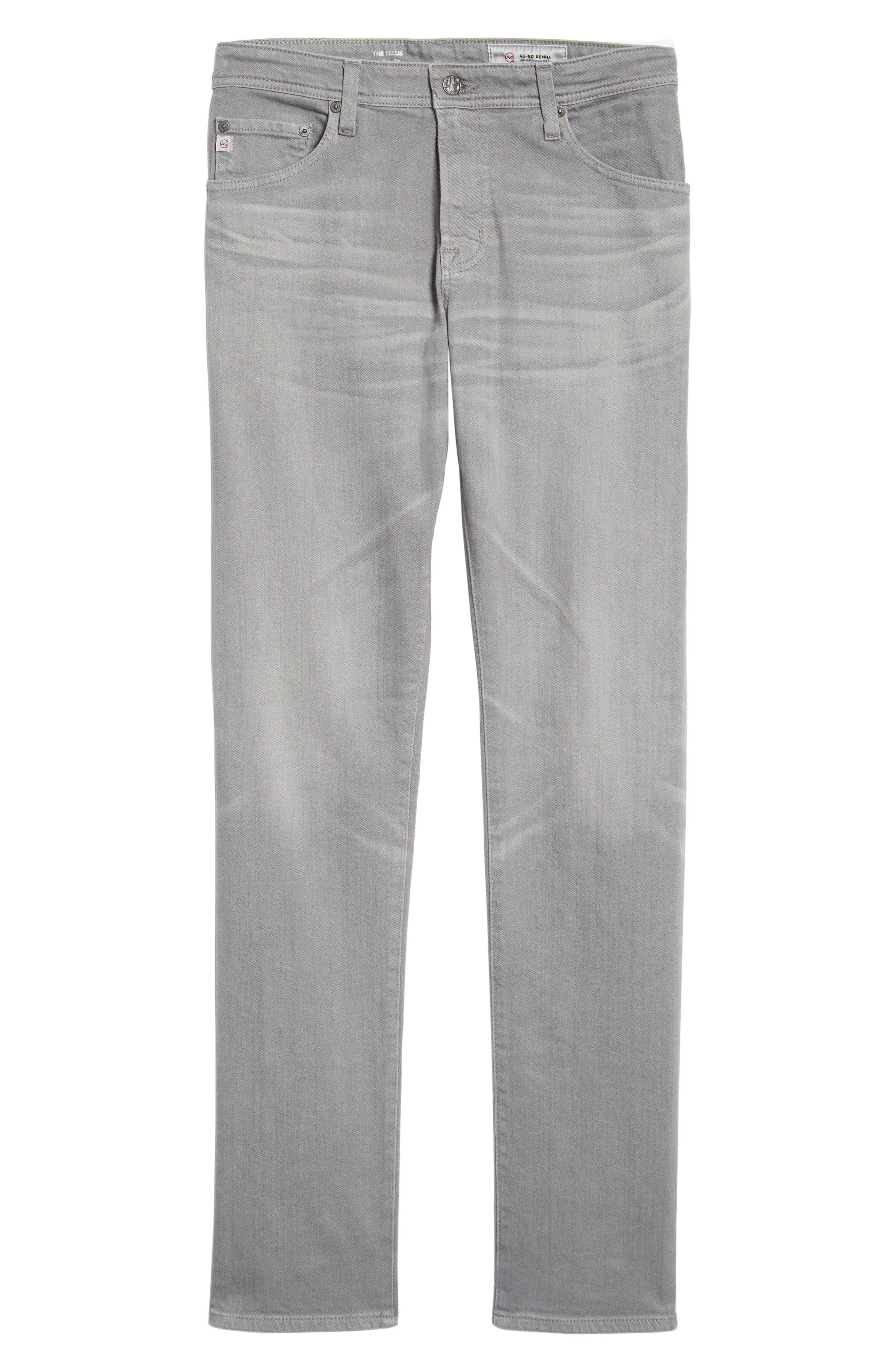 Tellis Modern Slim Twill Pants,                             Alternate thumbnail 12, color,