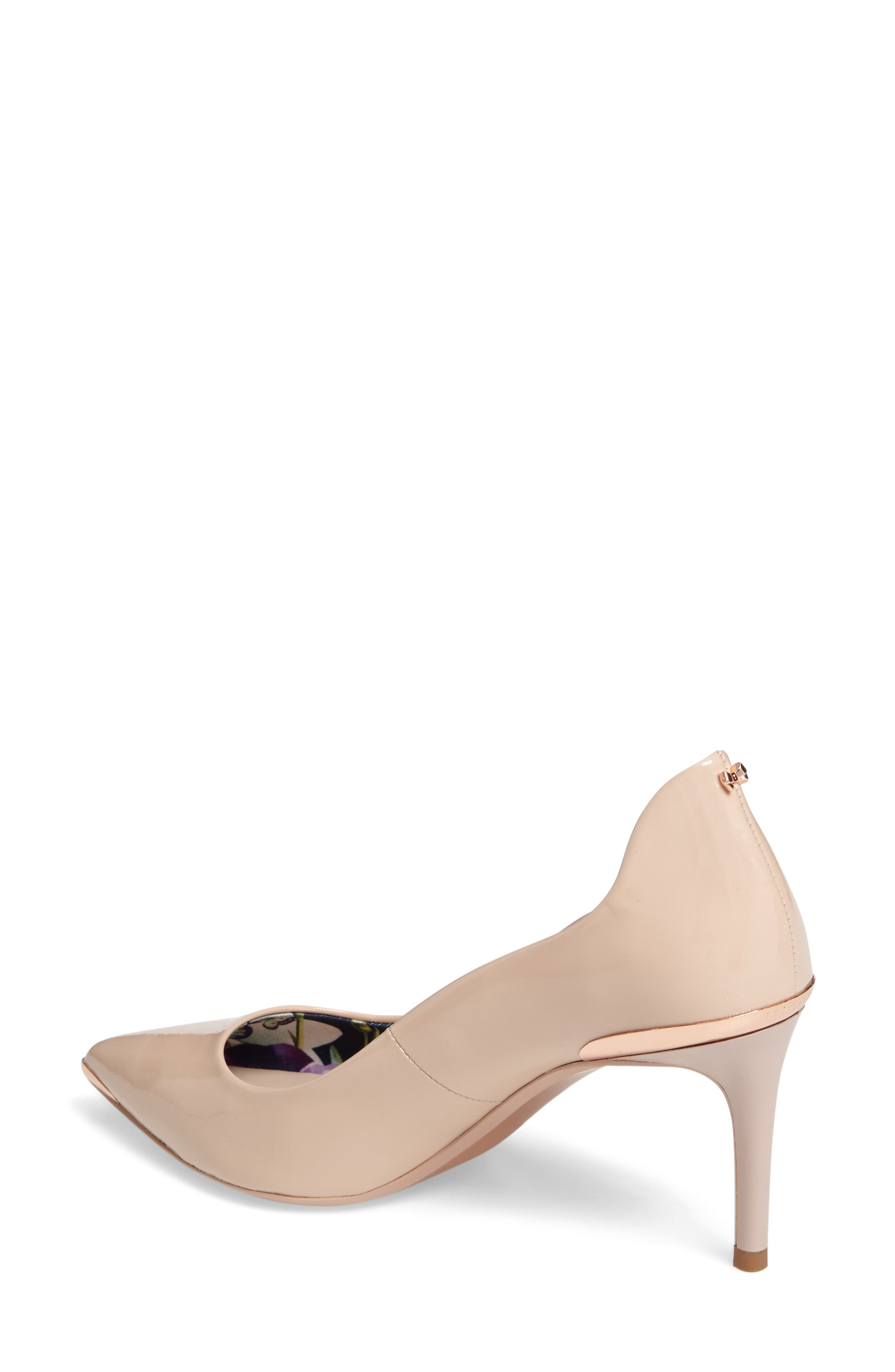 Vyixin Pump,                             Alternate thumbnail 2, color,                             NUDE PATENT LEATHER