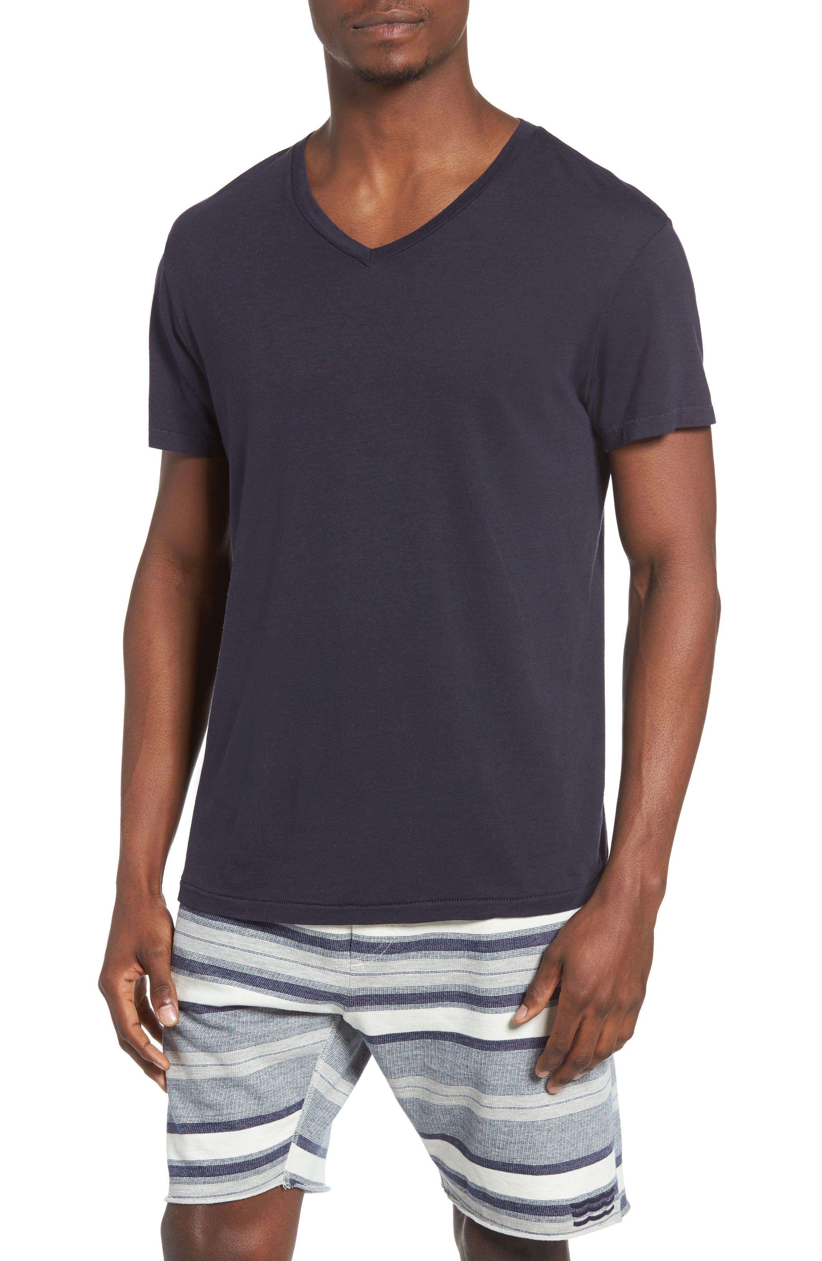 Essential V-Neck T-Shirt,                             Main thumbnail 7, color,