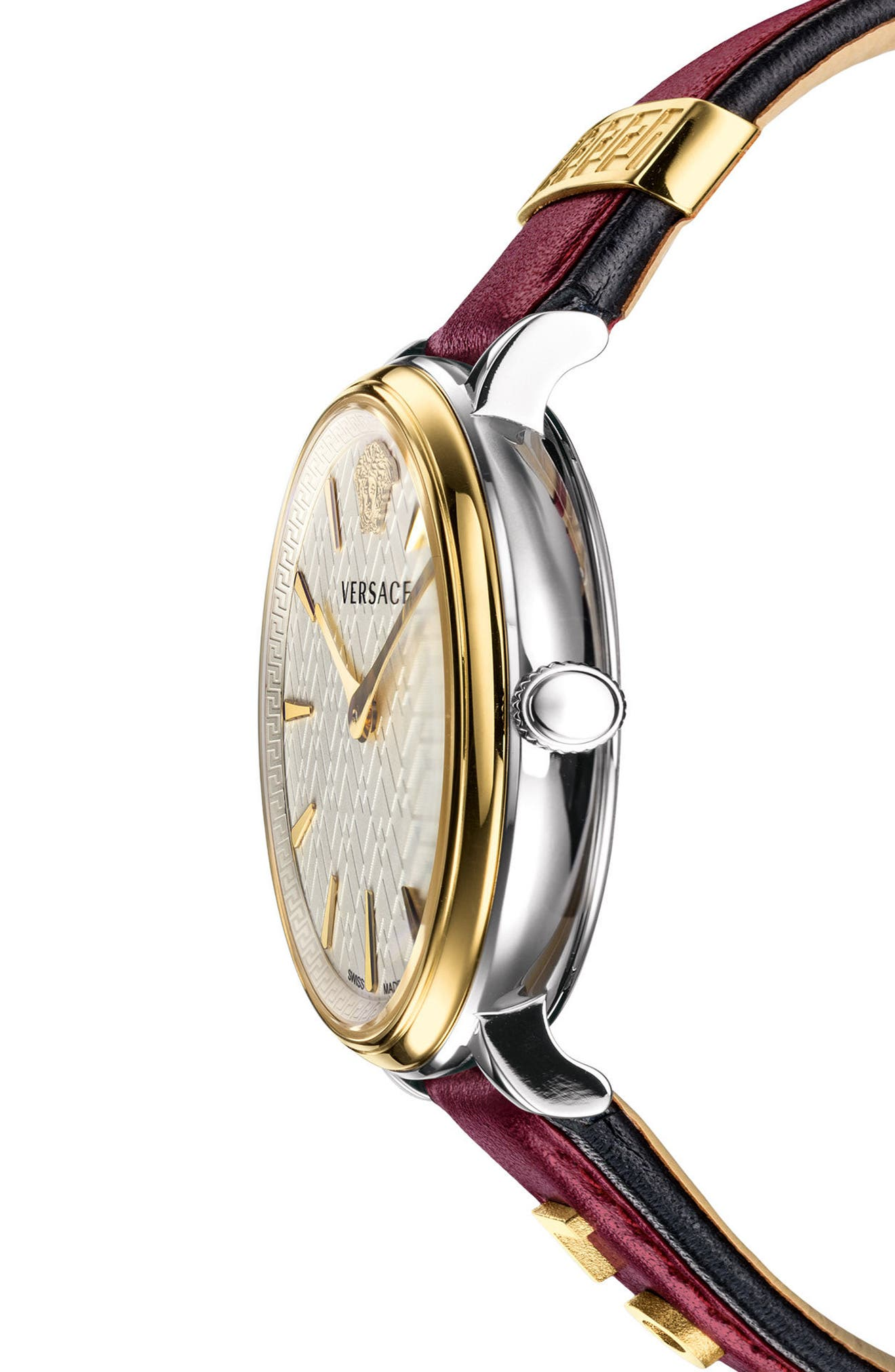 Manifesto Leather Strap Watch, 38mm,                             Alternate thumbnail 14, color,