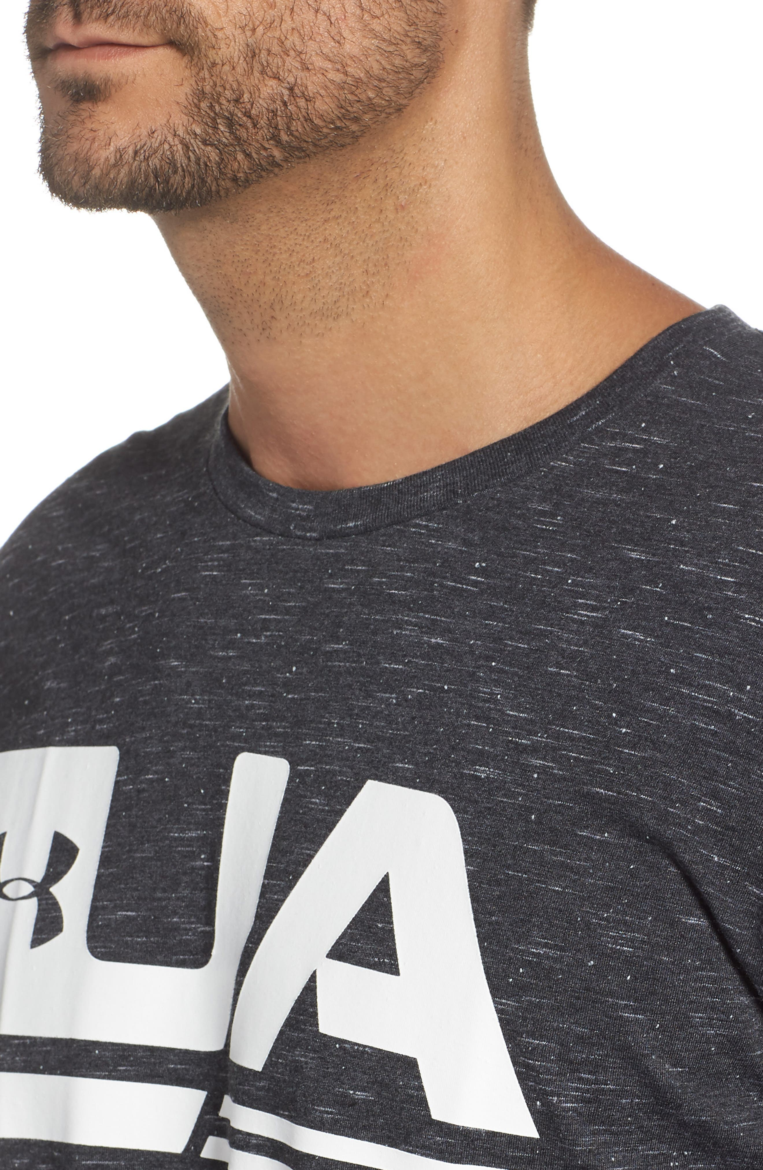 Sportstyle Graphic T-Shirt,                             Alternate thumbnail 4, color,                             BLACK