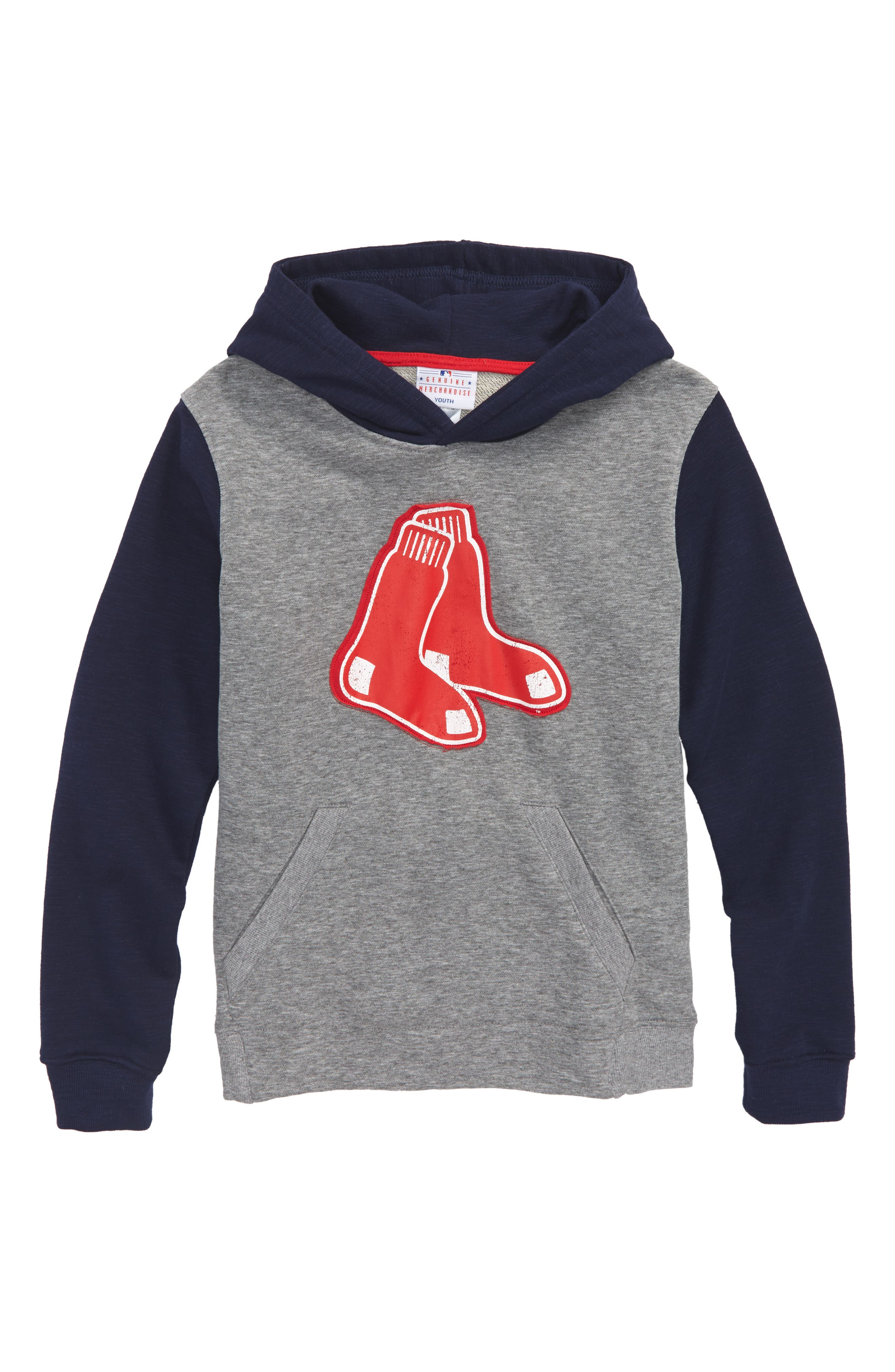 New Beginnings - Boston Red Sox Pullover Hoodie,                             Main thumbnail 1, color,                             020