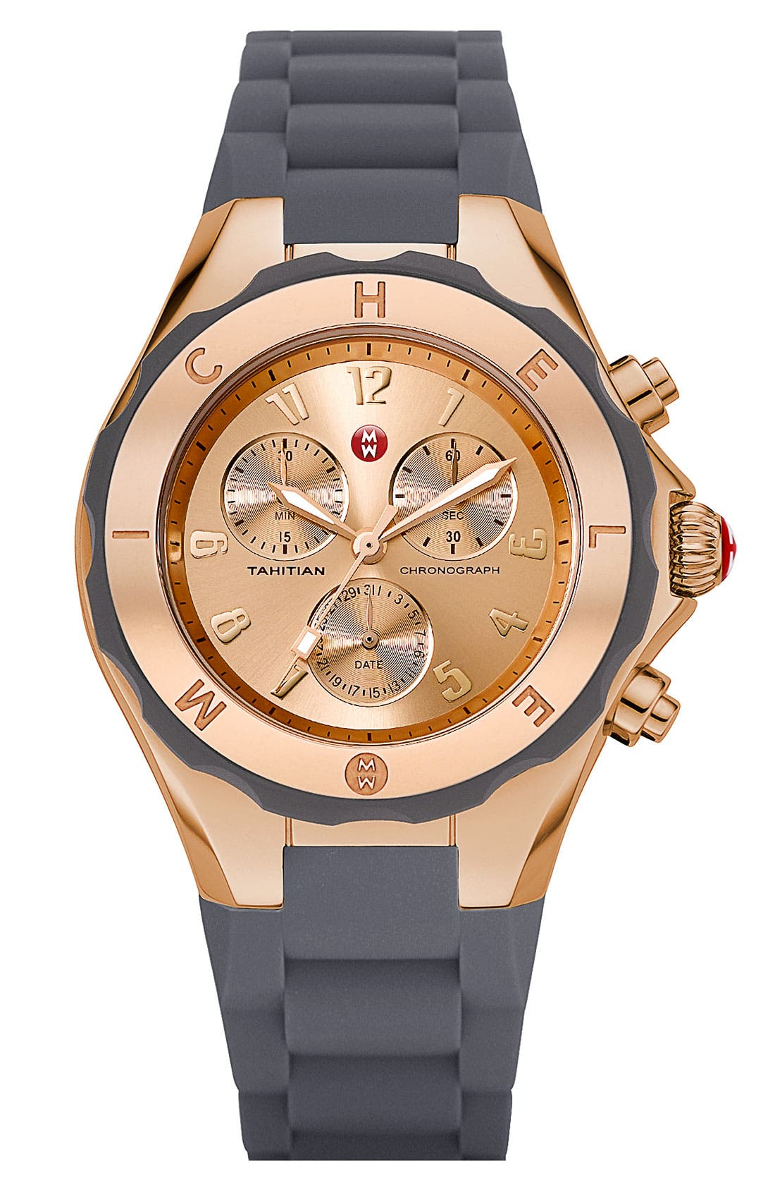 'Tahitian Jelly Bean' Gold Plated Watch, 40mm,                             Main thumbnail 6, color,