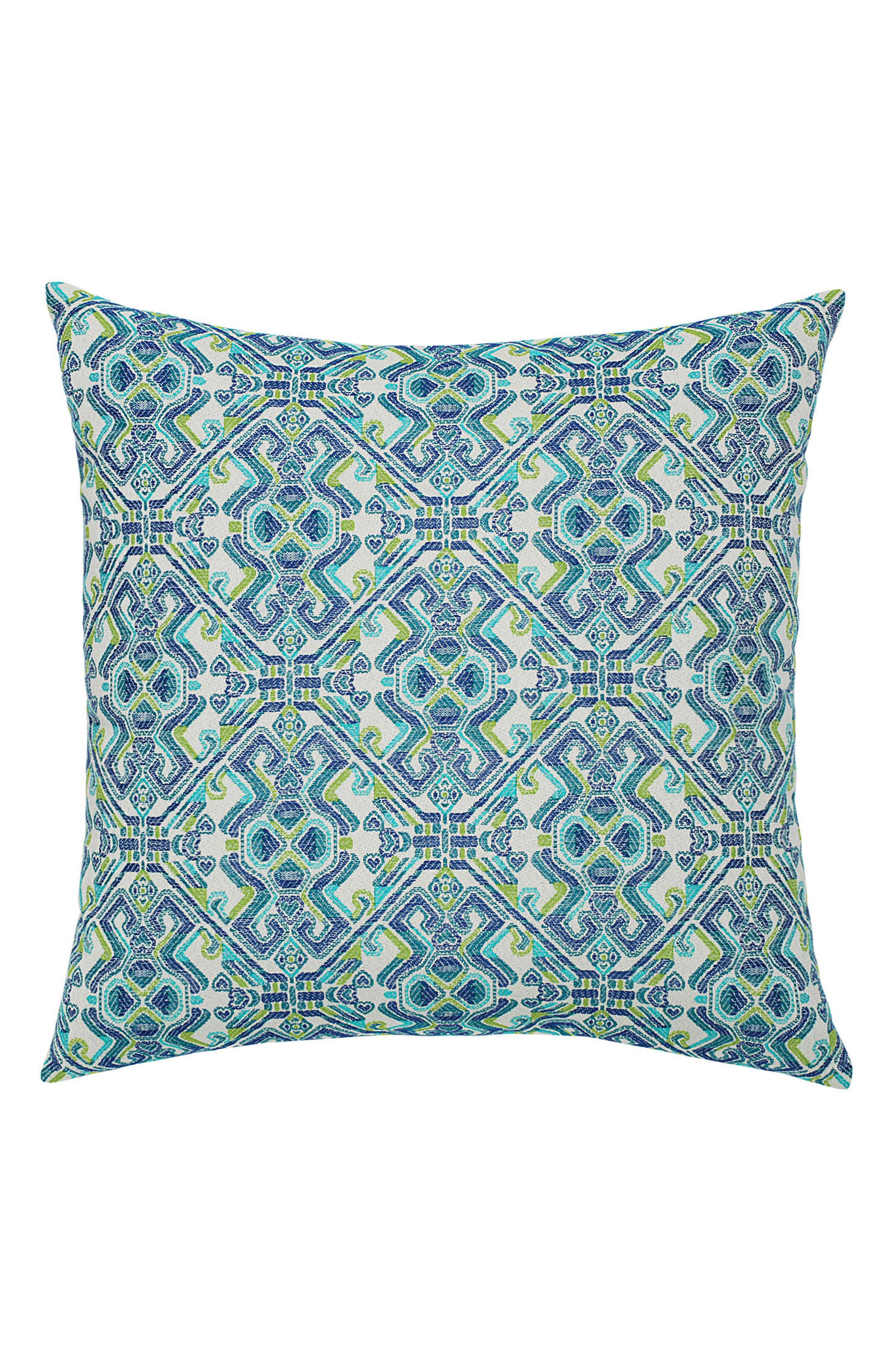 Delphi Indoor/Outdoor Accent Pillow,                             Main thumbnail 1, color,                             BLUE MULTI