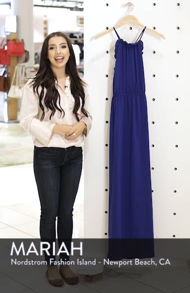 Crepe Blouson Maxi Dress, sales video thumbnail