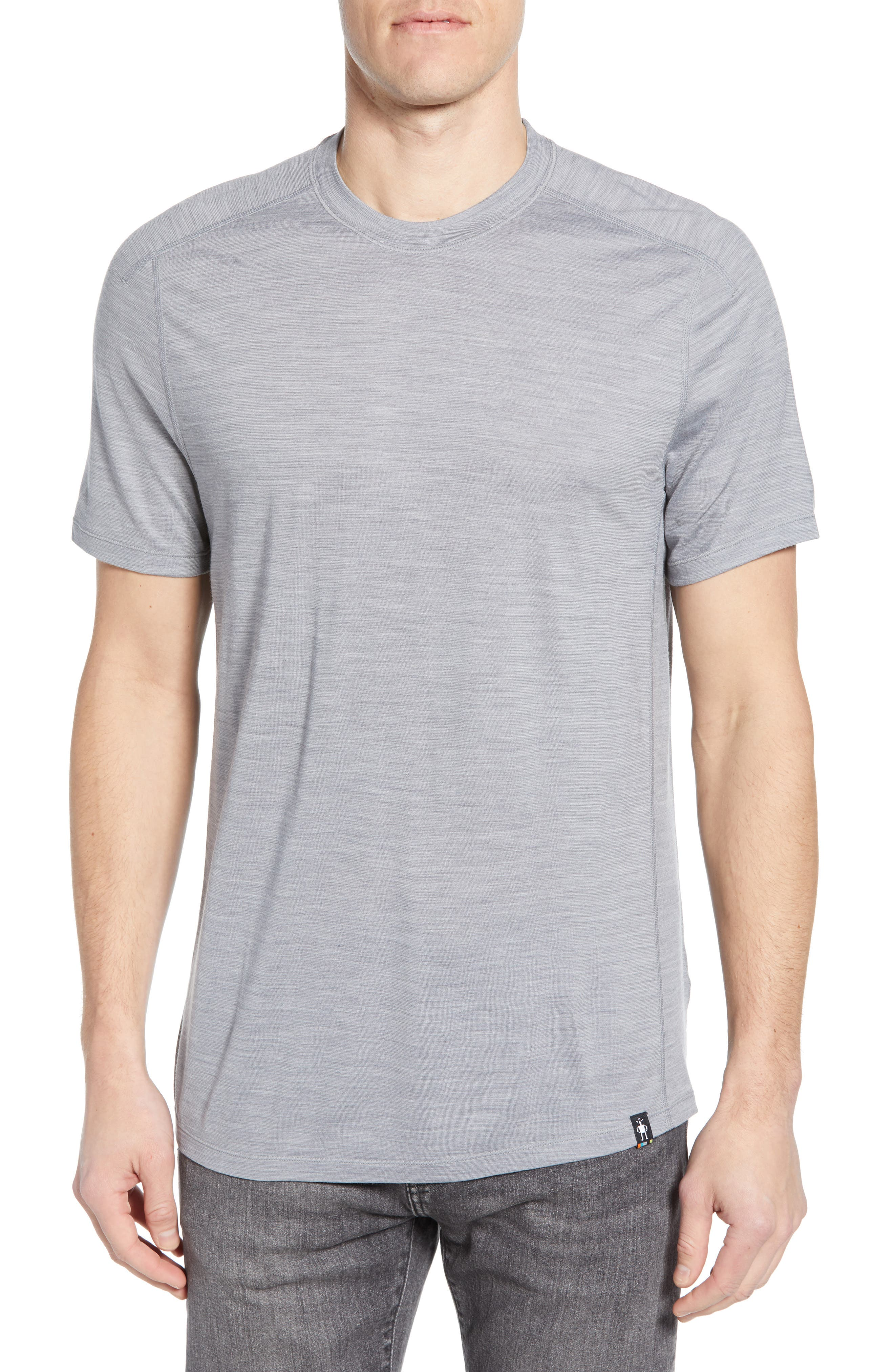Smartwool Merino Blend Tech T-Shirt, Grey