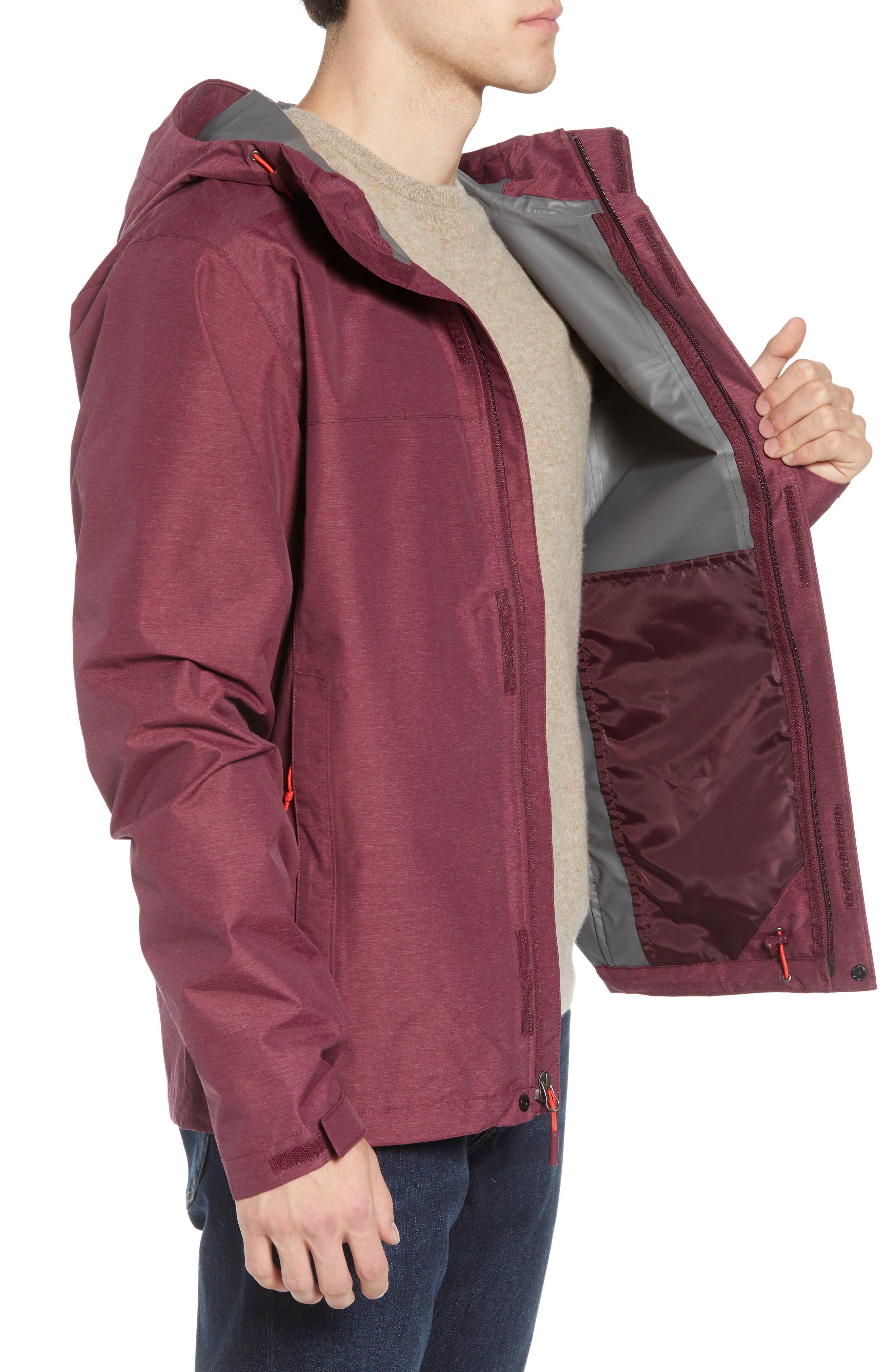 Venture II Raincoat,                             Alternate thumbnail 3, color,                             FIG HEATHER/ FIG HEATHER