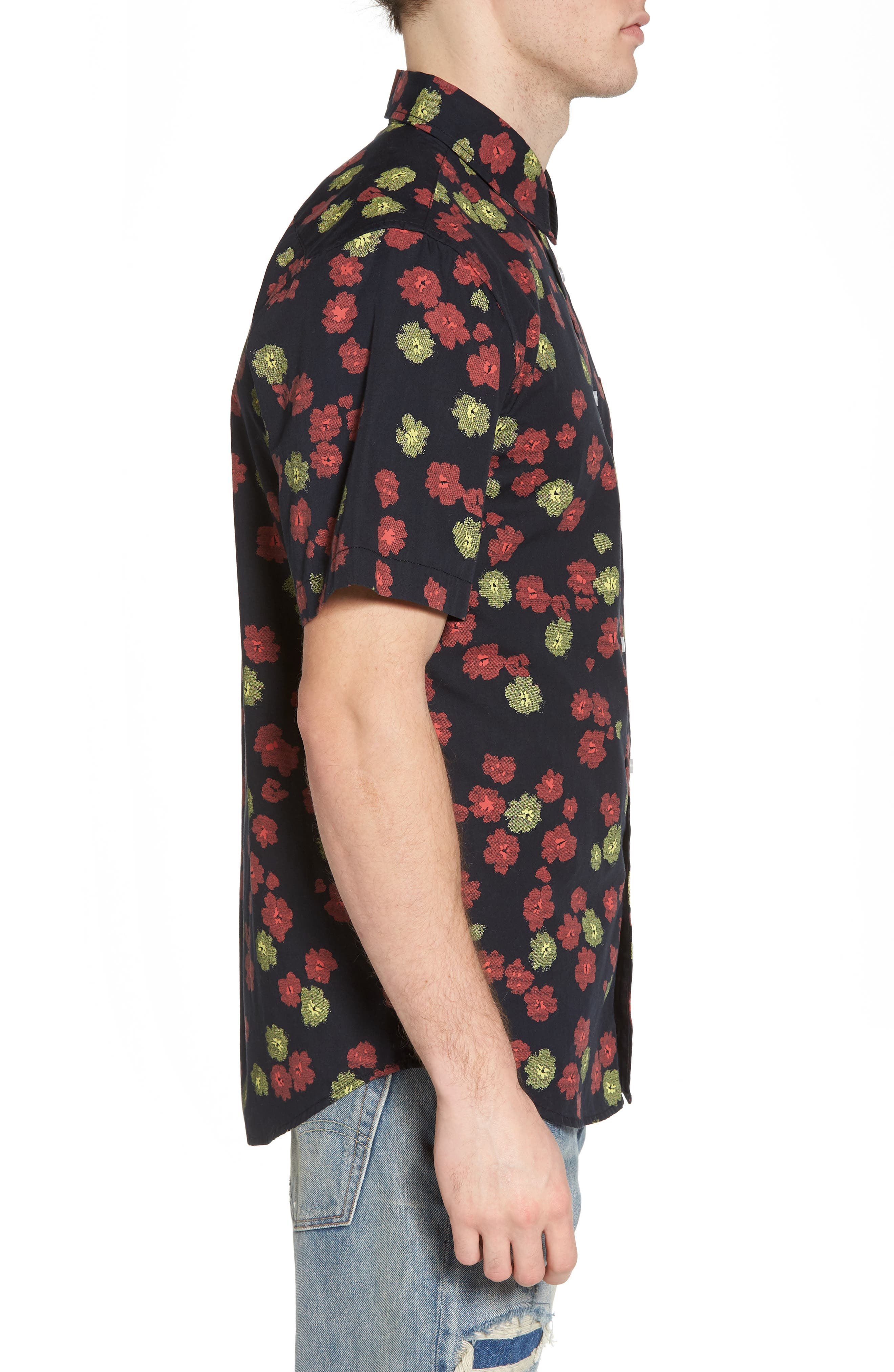 Felix Poplin Shirt,                             Alternate thumbnail 3, color,                             002