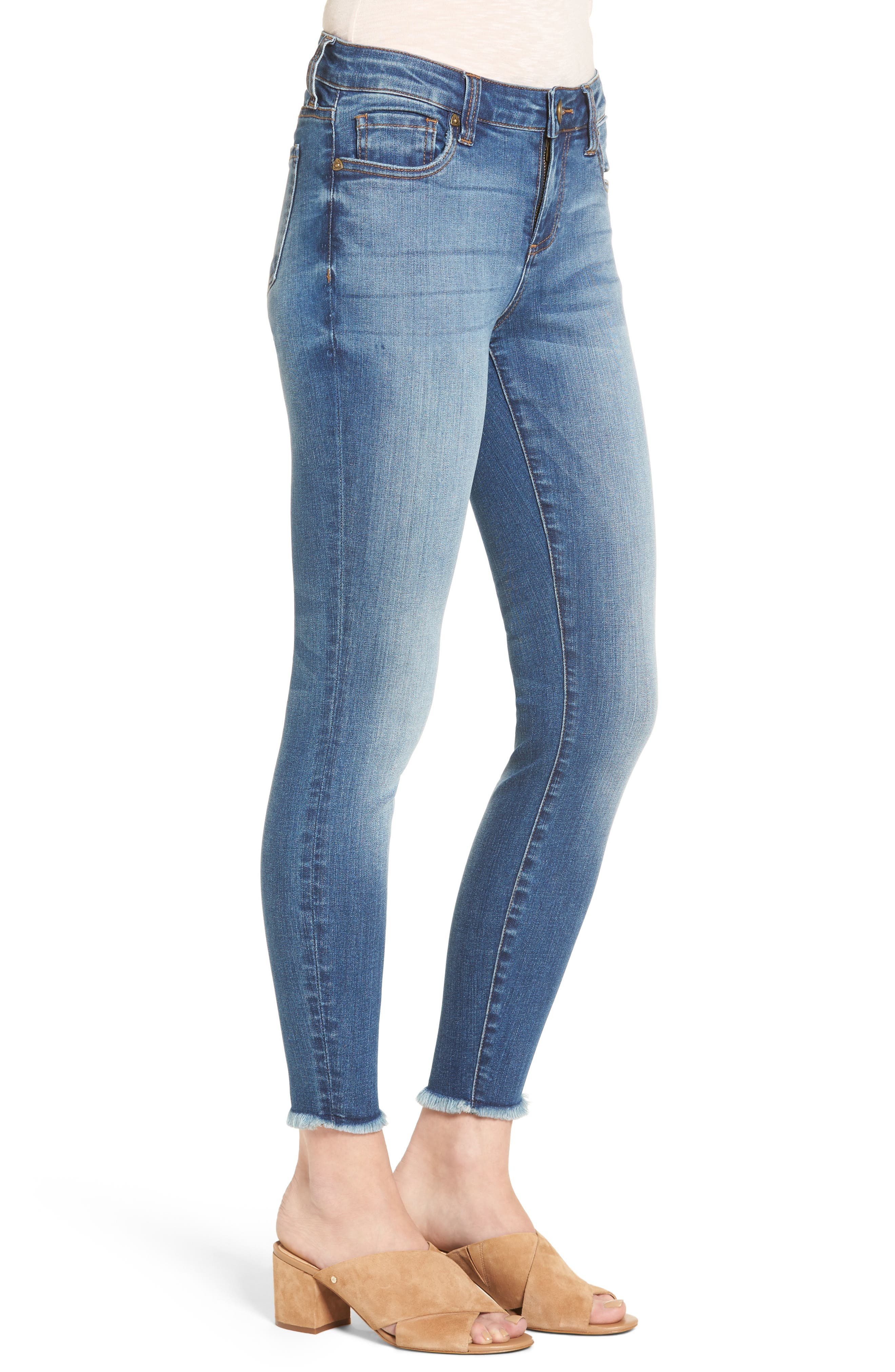 Connie Skinny Jeans,                             Alternate thumbnail 3, color,                             482