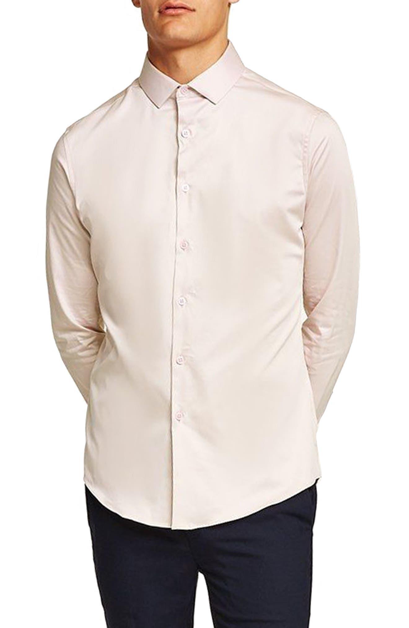 Stretch Smart Shirt,                         Main,                         color, PURPLE