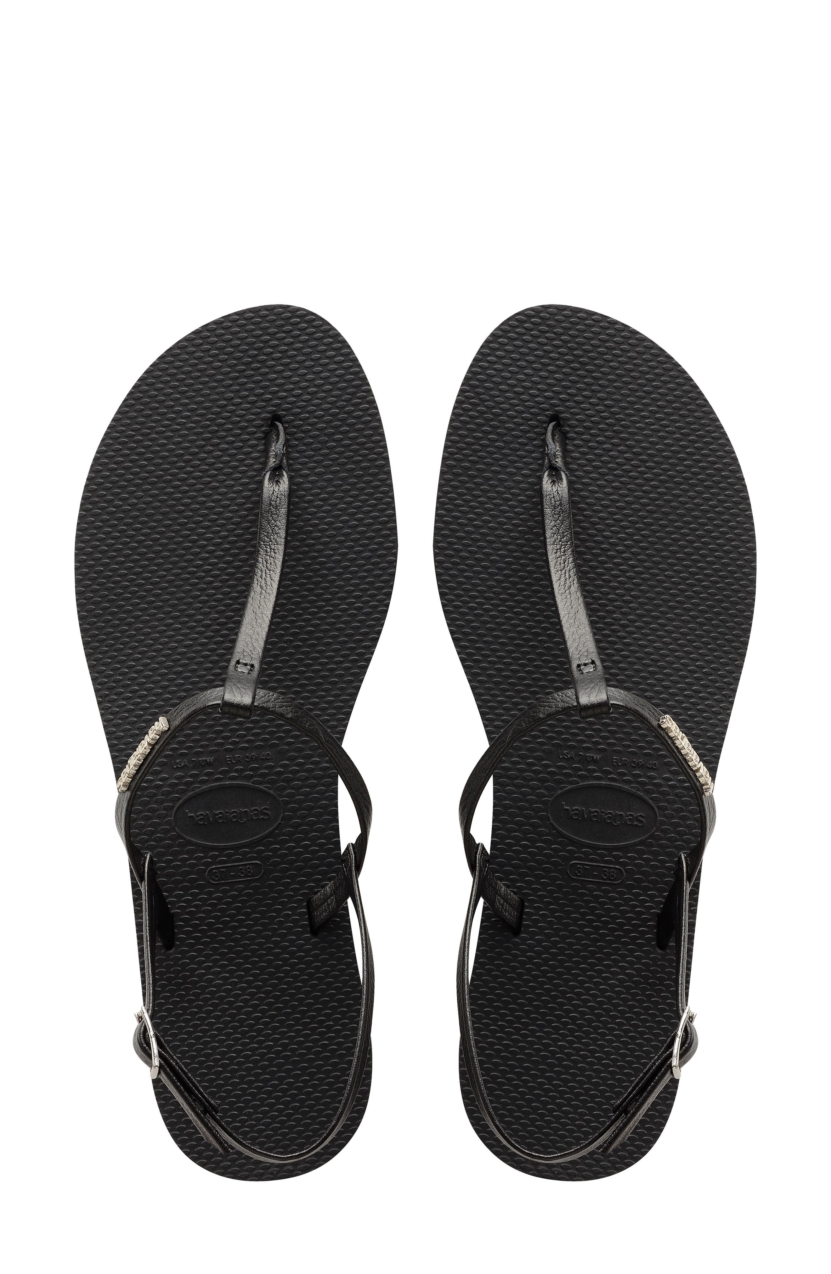 You Riviera Sandal,                         Main,                         color, NEW BLACK